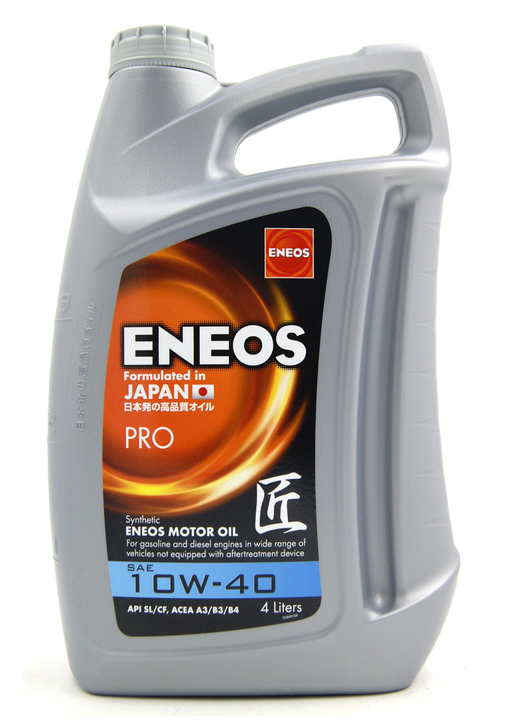 Eneos Premium 10W40 4L Olej Silnikowy Syntetyczny