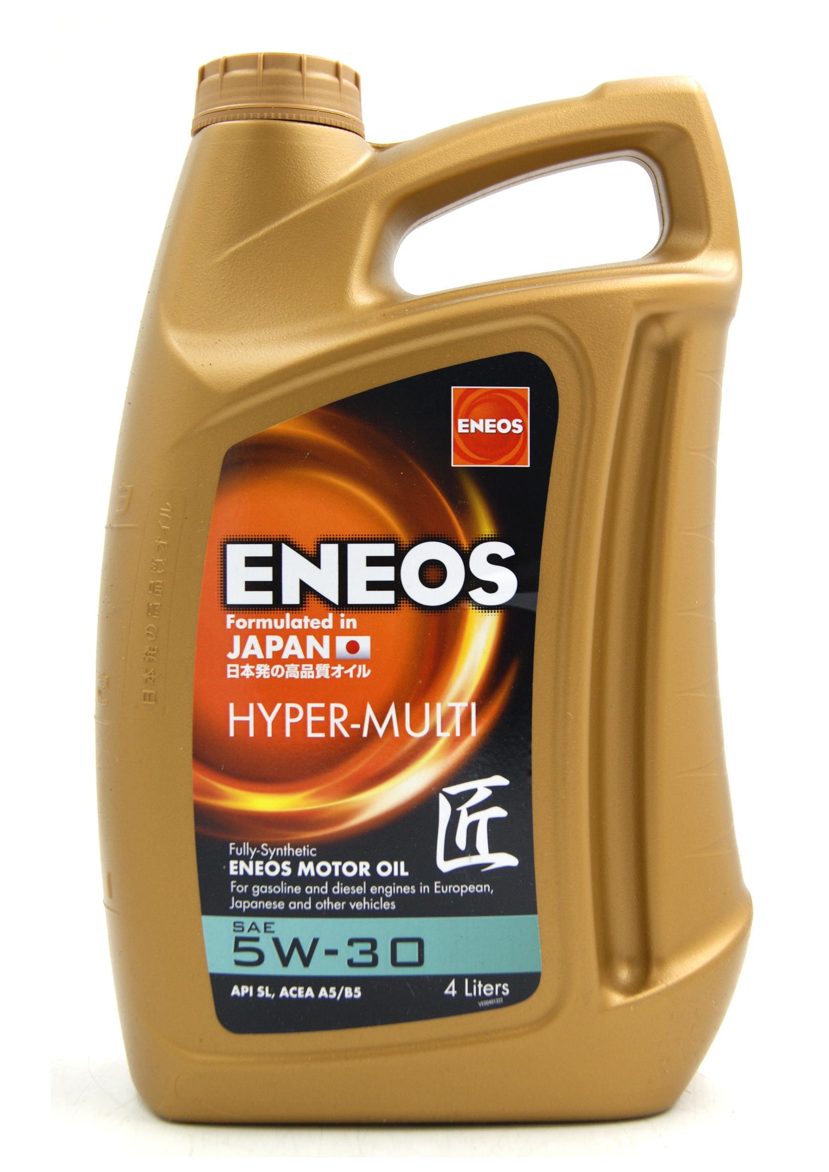 Eneos Premium Hyper Multi 5W30 4L Syntetyczny Olej Silnikowy