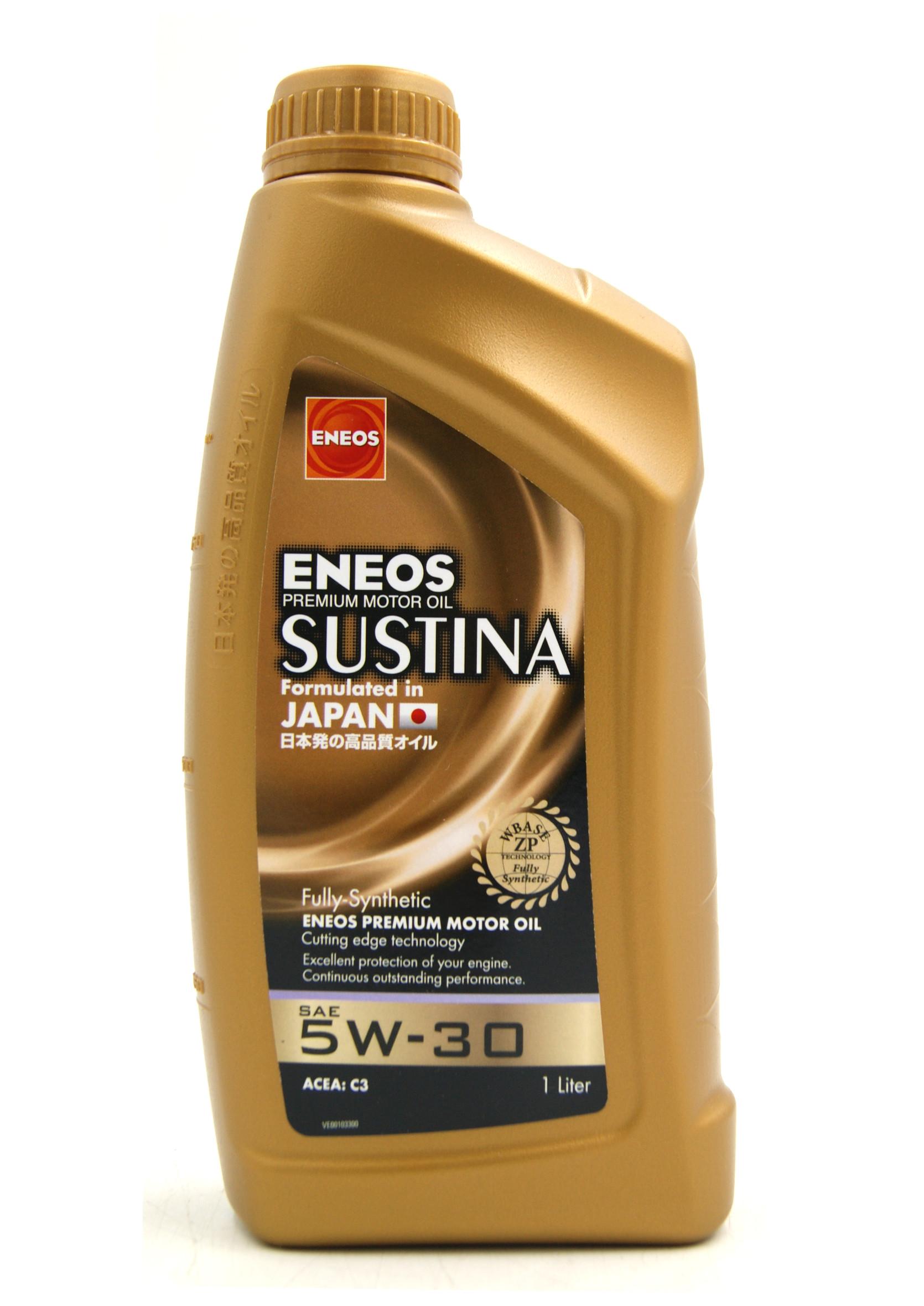 Eneos Sustina 5W30 1L Olej Silnikowy Syntetyczny