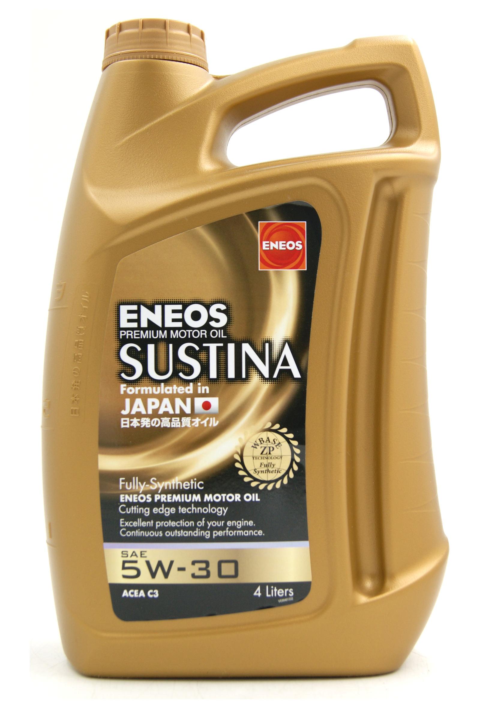 Eneos Sustina 5W30 4L Olej Silnikowy Syntetyczny