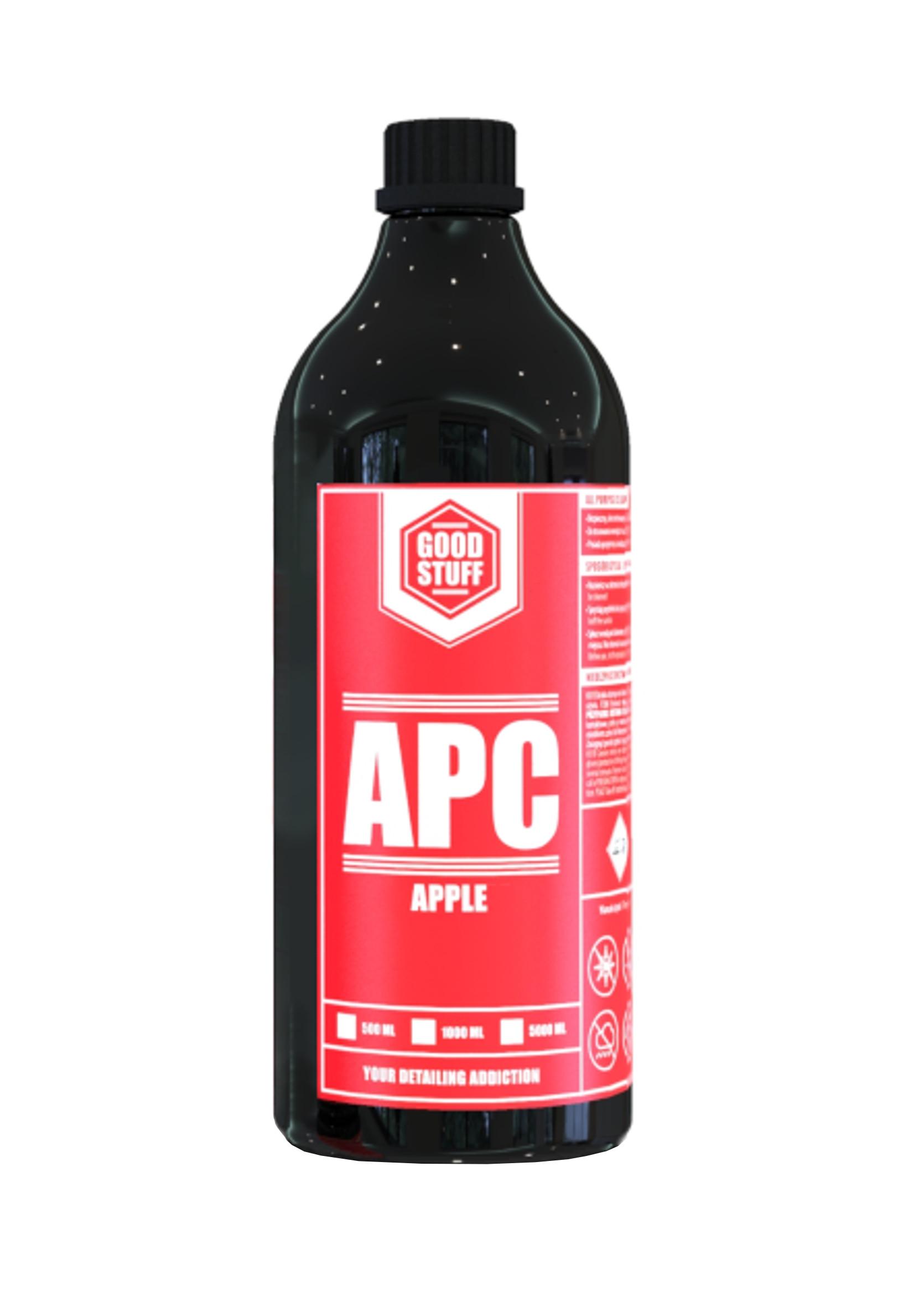 Good Stuff APC Apple 1L Uniwersalny Koncentrat do Czyszczenia Wnętrza