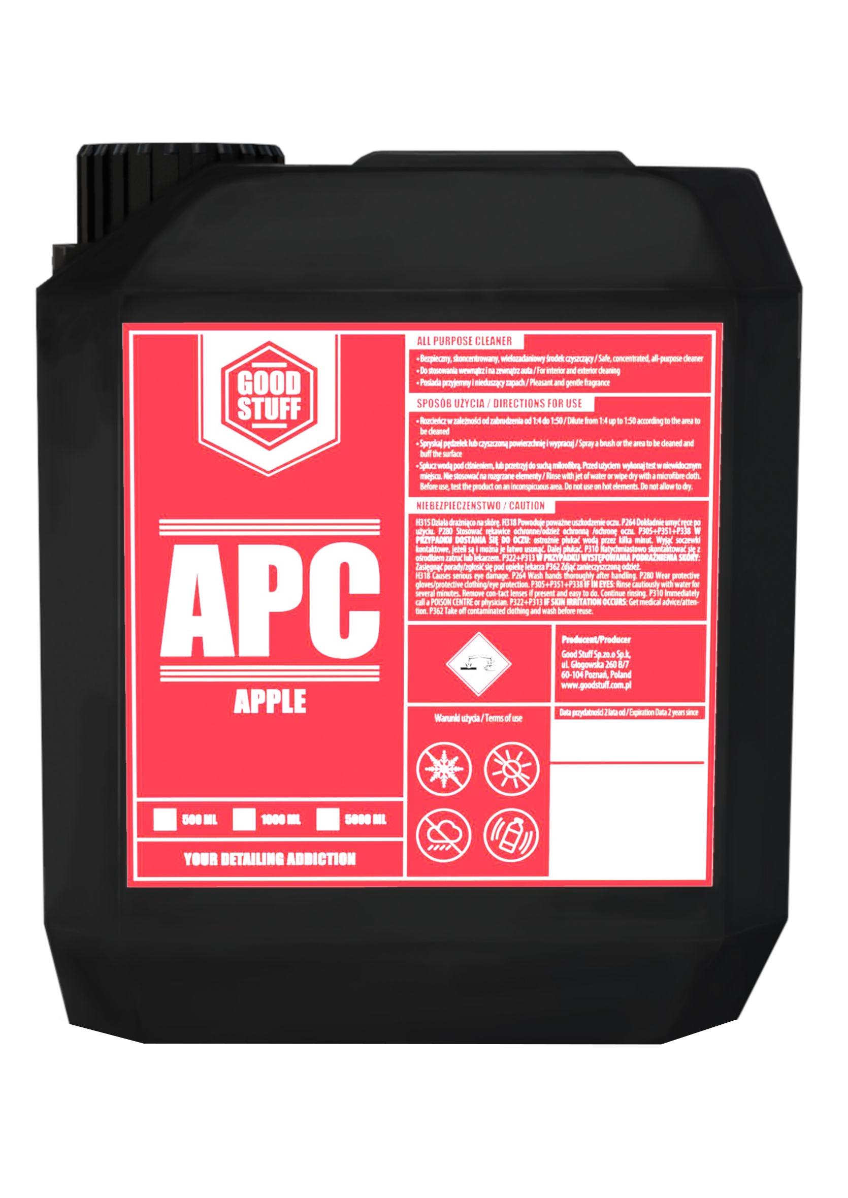Good Stuff APC Apple 5L Uniwersalny Koncentrat do Czyszczenia Wnętrza
