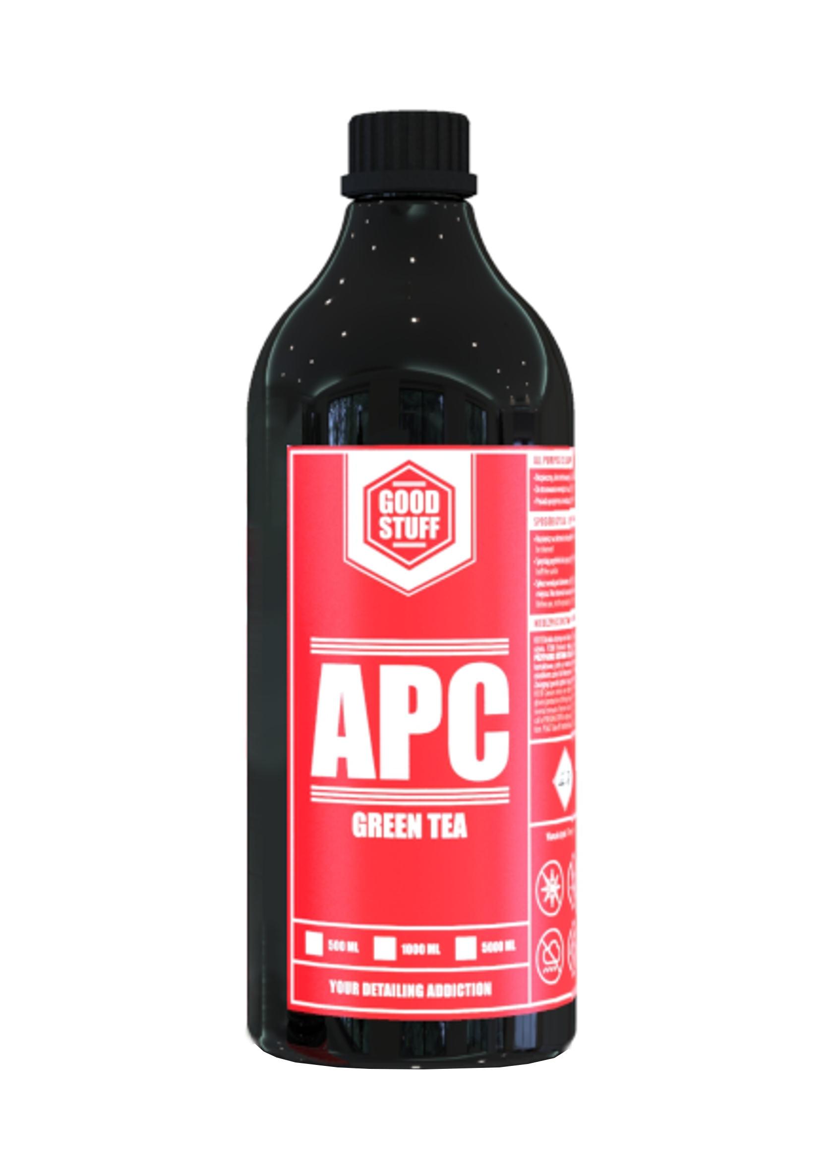 Good Stuff APC Green Tea 1L Uniwersalny Koncentrat do Czyszczenia Wnętrza