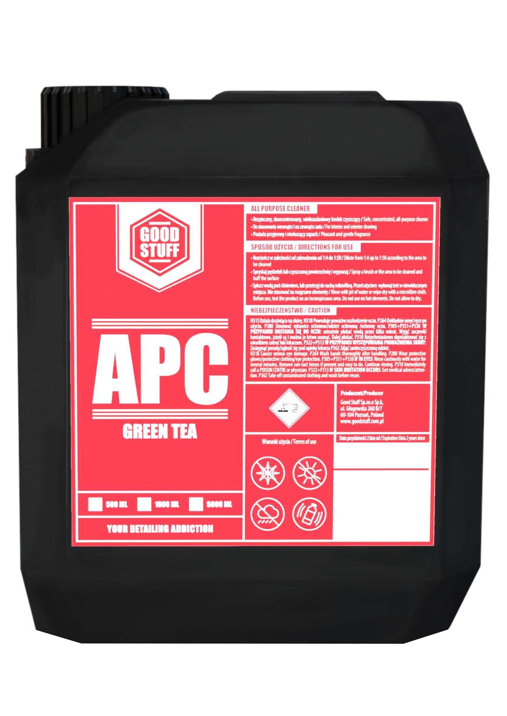 Good Stuff APC Green Tea 5L Uniwersalny Koncentrat do Czyszczenia Wnętrza