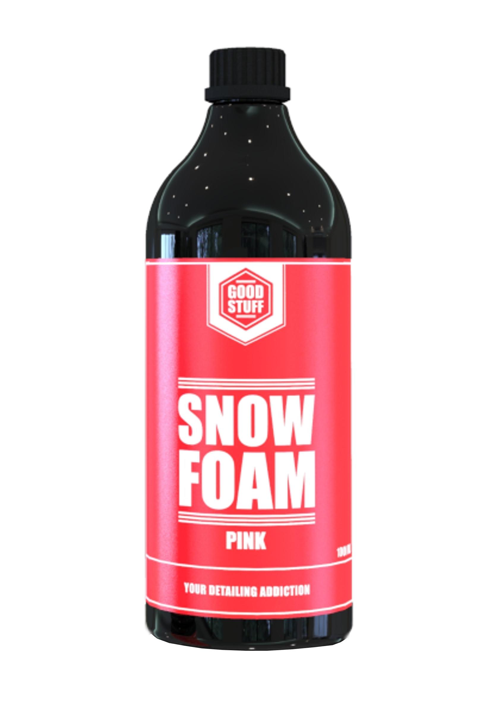 Good Stuff Snow Foam Pink 1L Piana Aktywna Różowa