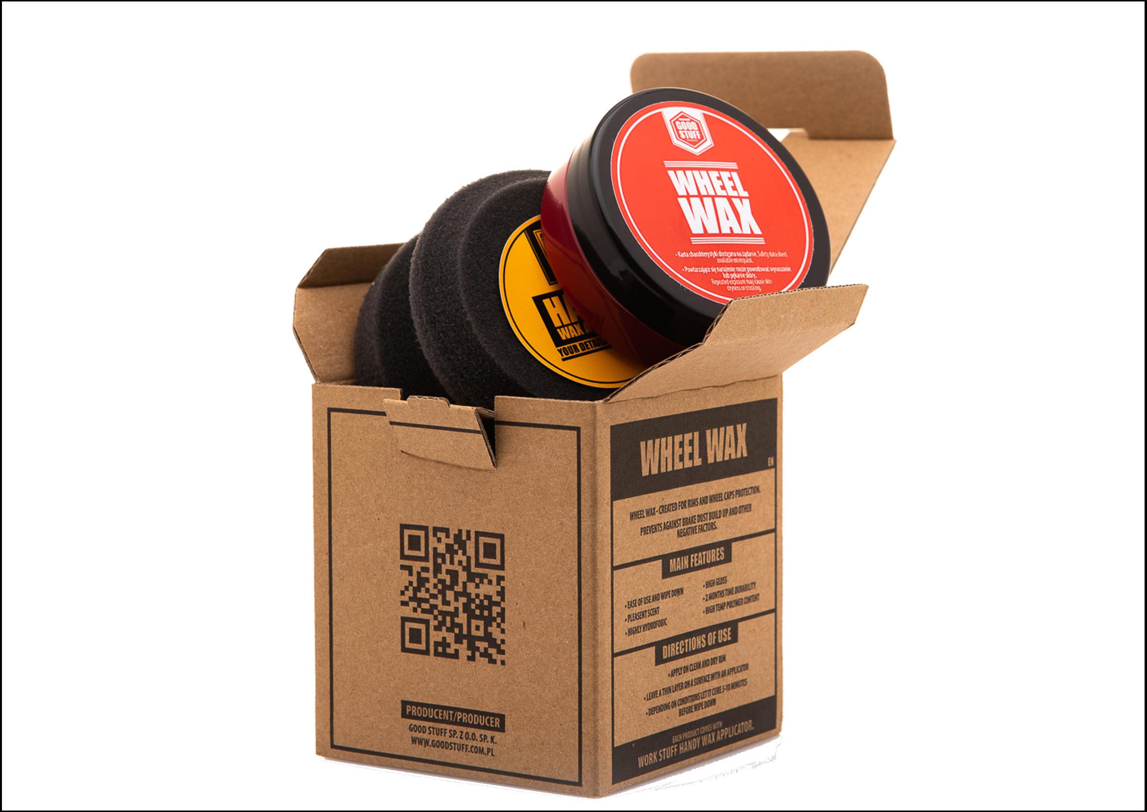 Good Stuff Wheel Wax 50ml Wosk do Felg i Kołpaków z Aplikatorem
