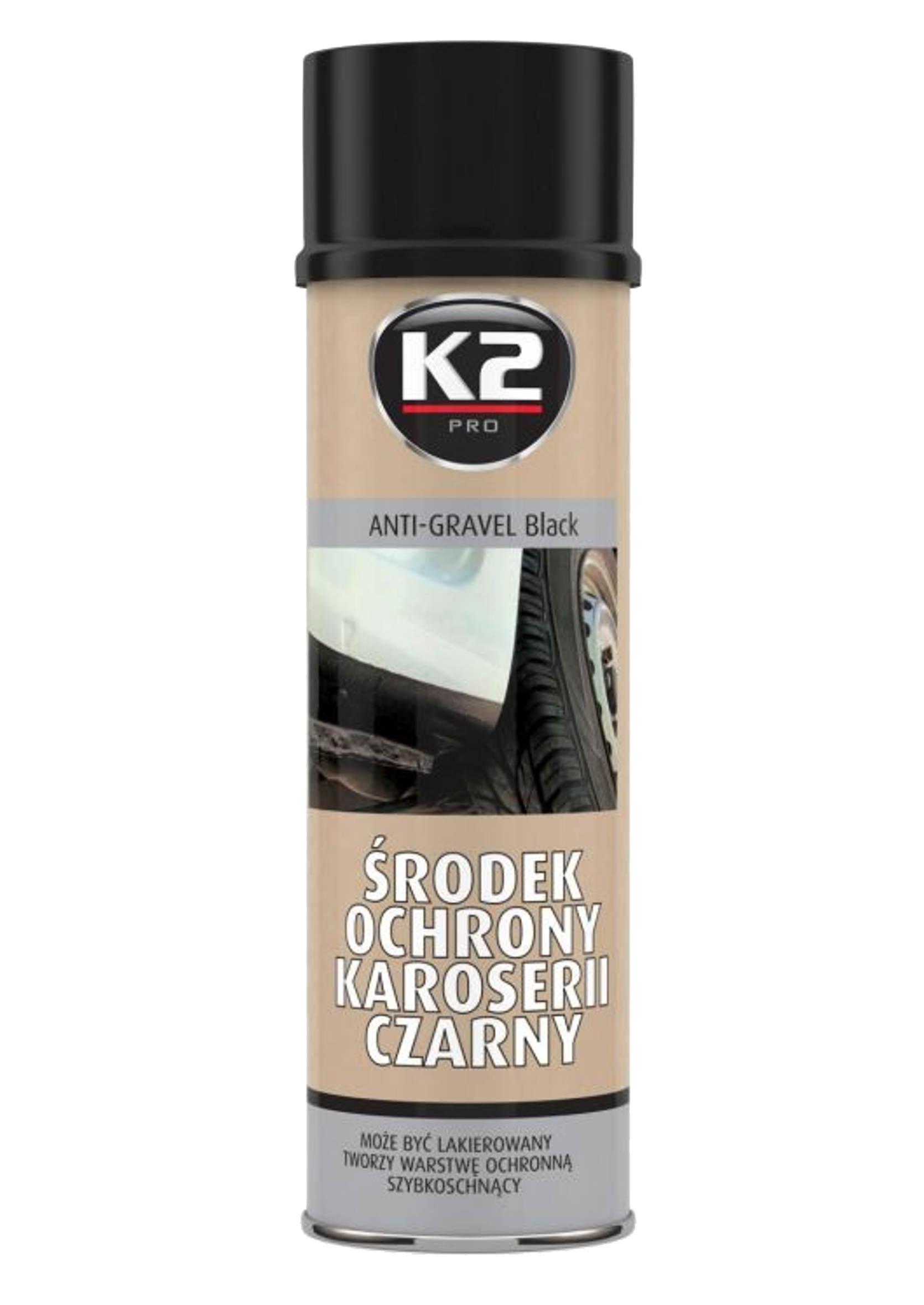 K2 Baranek Czarny 500 ml do Ochrony Karoserii
