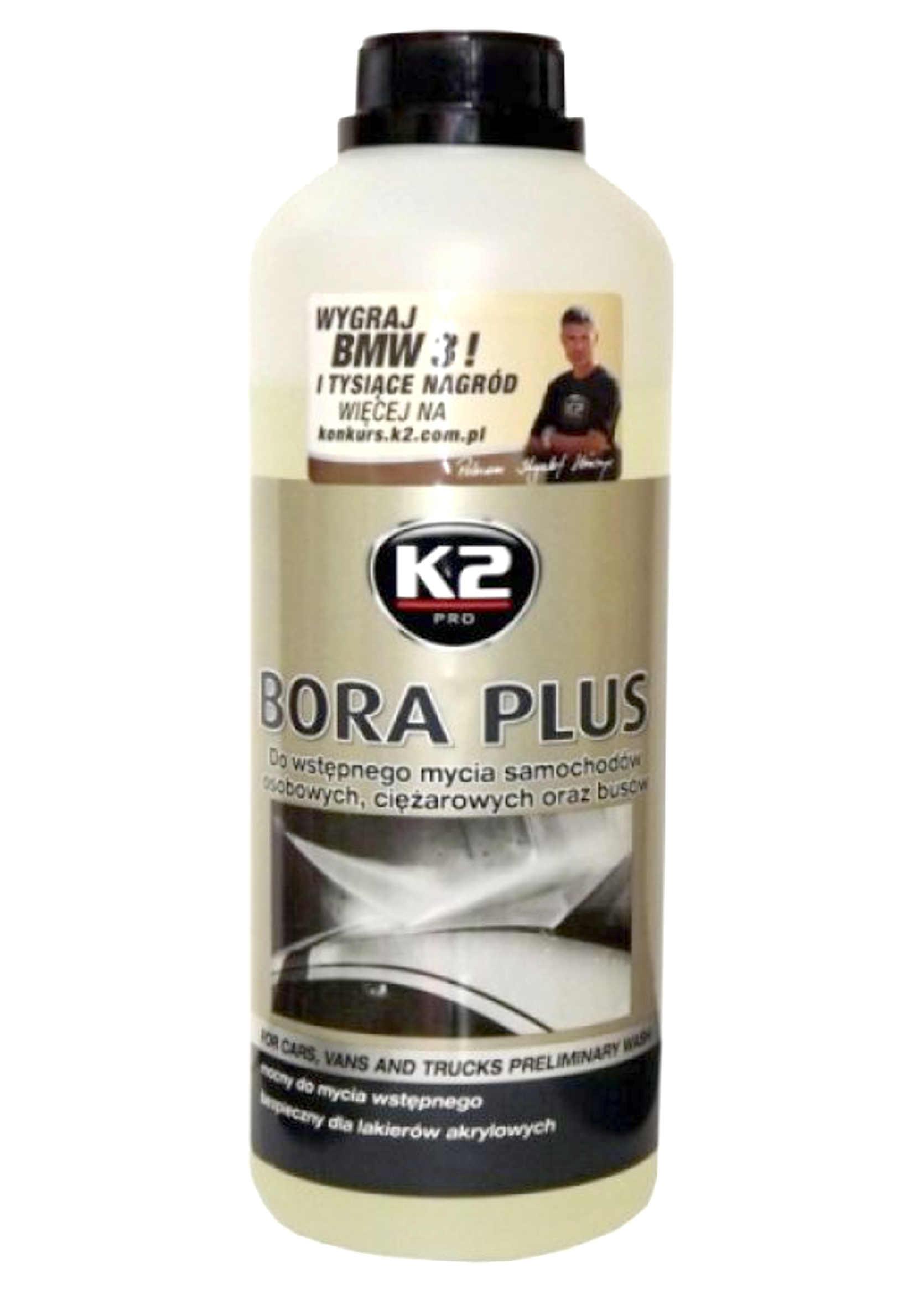 K2 Bora Plus 1kg Piana aktywna do mycia wstępnego