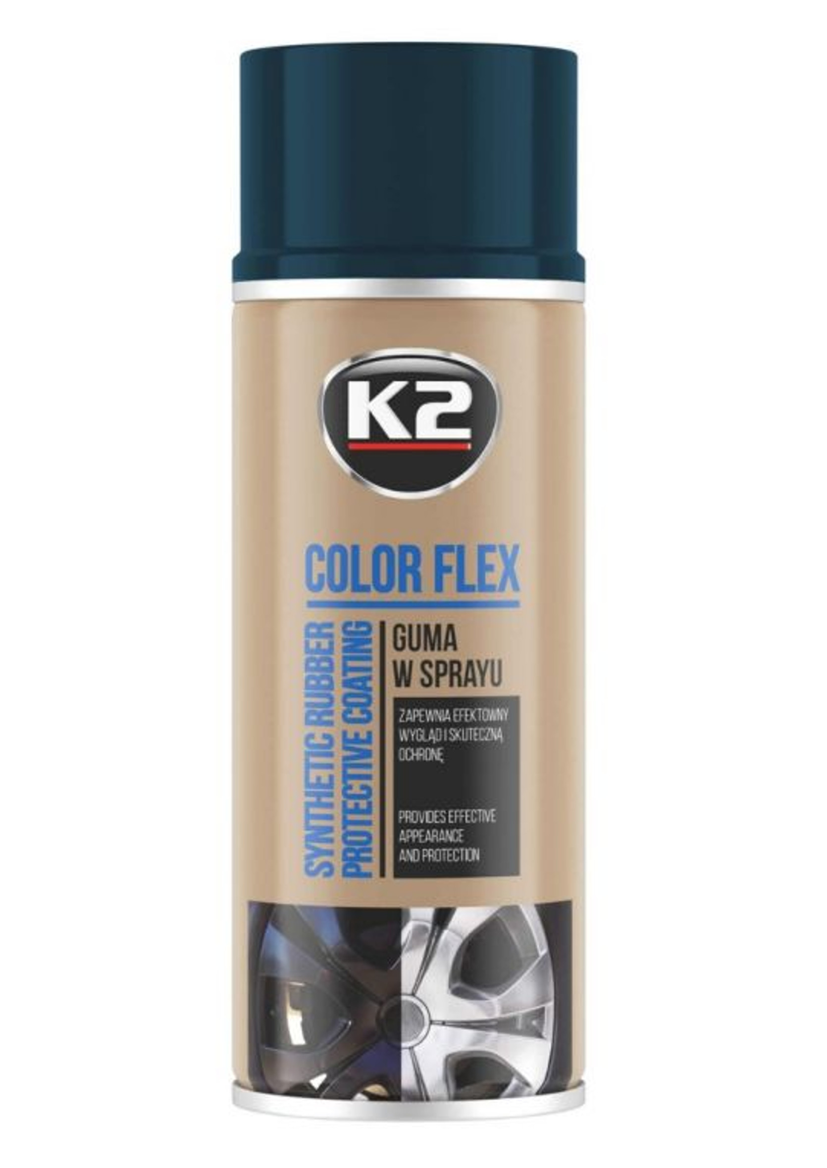 K2 Color Flex Carbon 400ml Guma w Sprayu