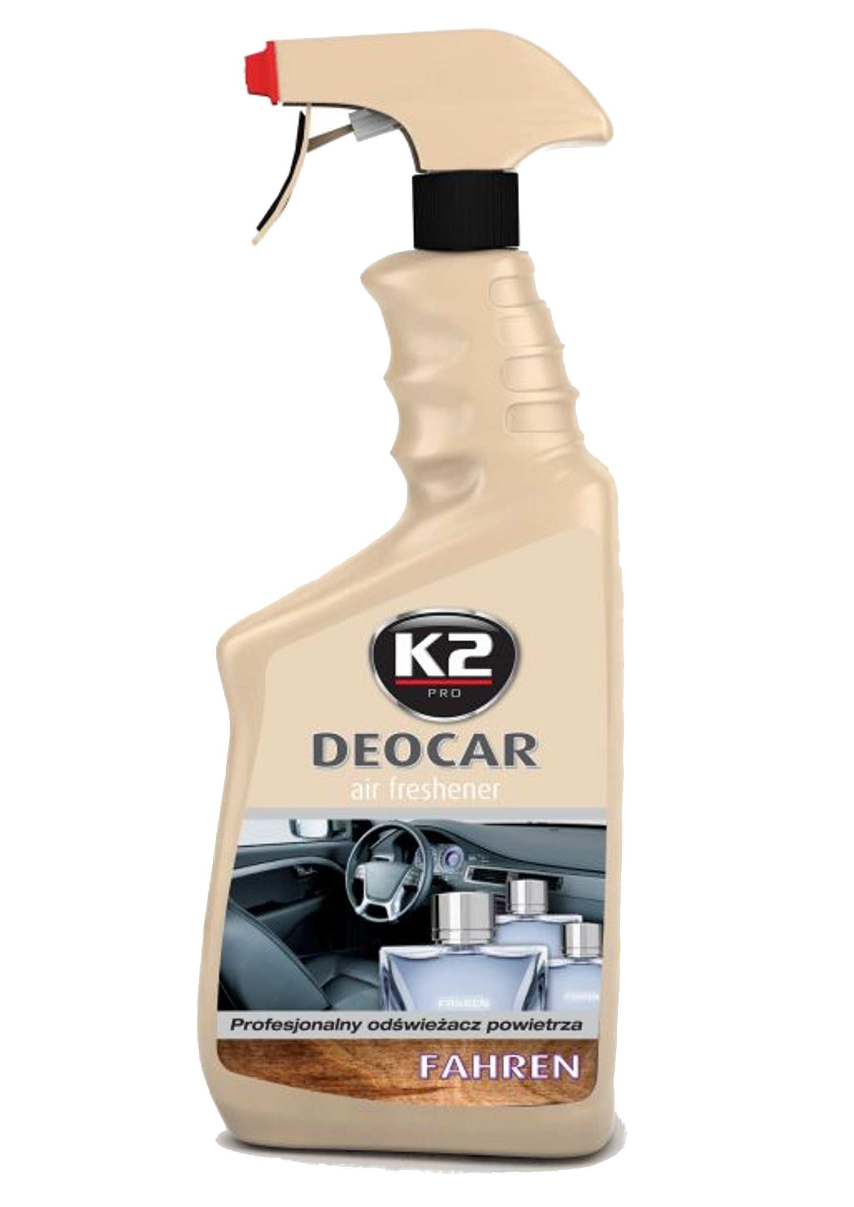 K2 Deocar Fahren 700ml Odświeżacz Powietrza w Atomizerze
