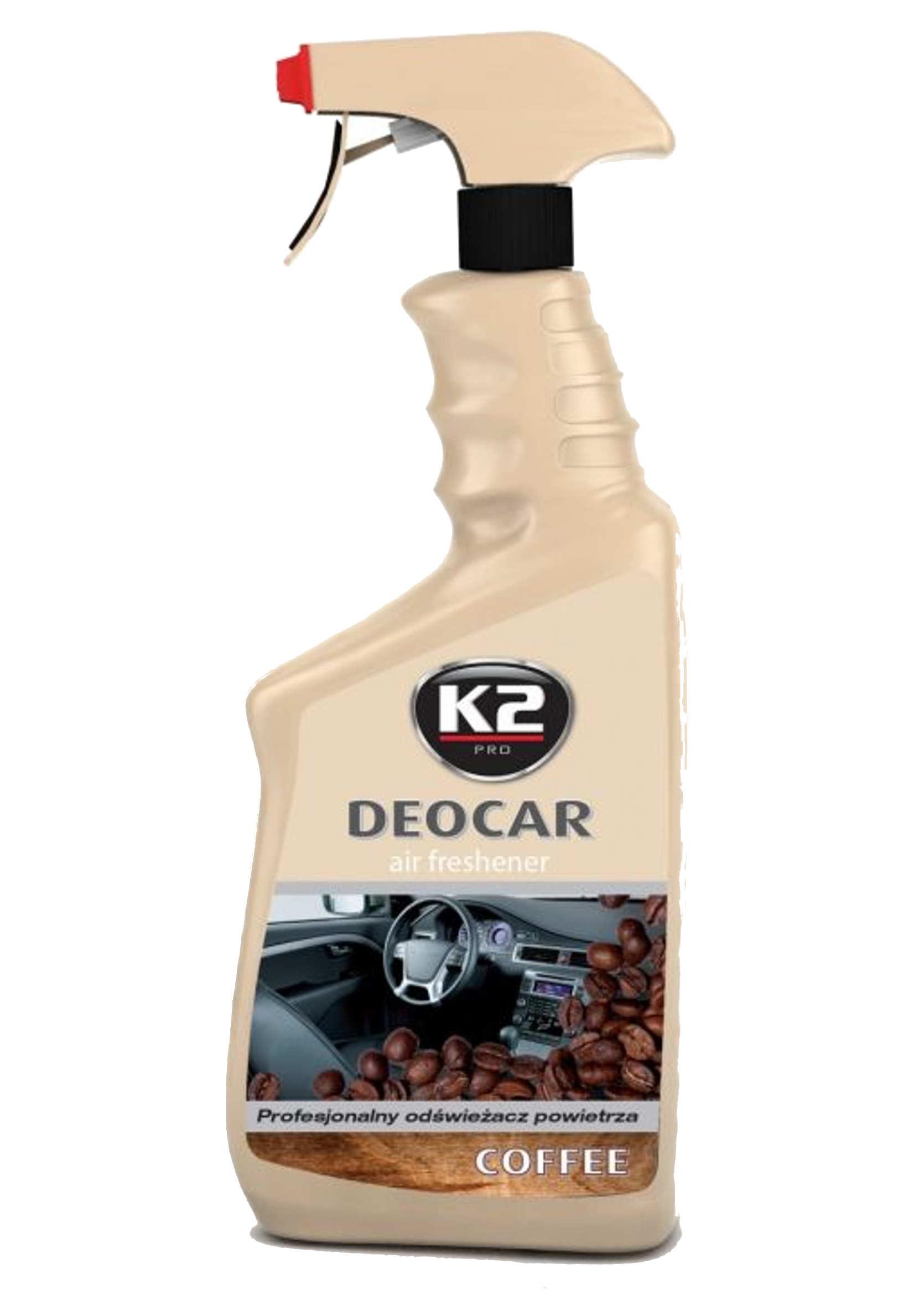 K2 Deocar Coffee Zapach Samochodowy w Atomizerze 700ml