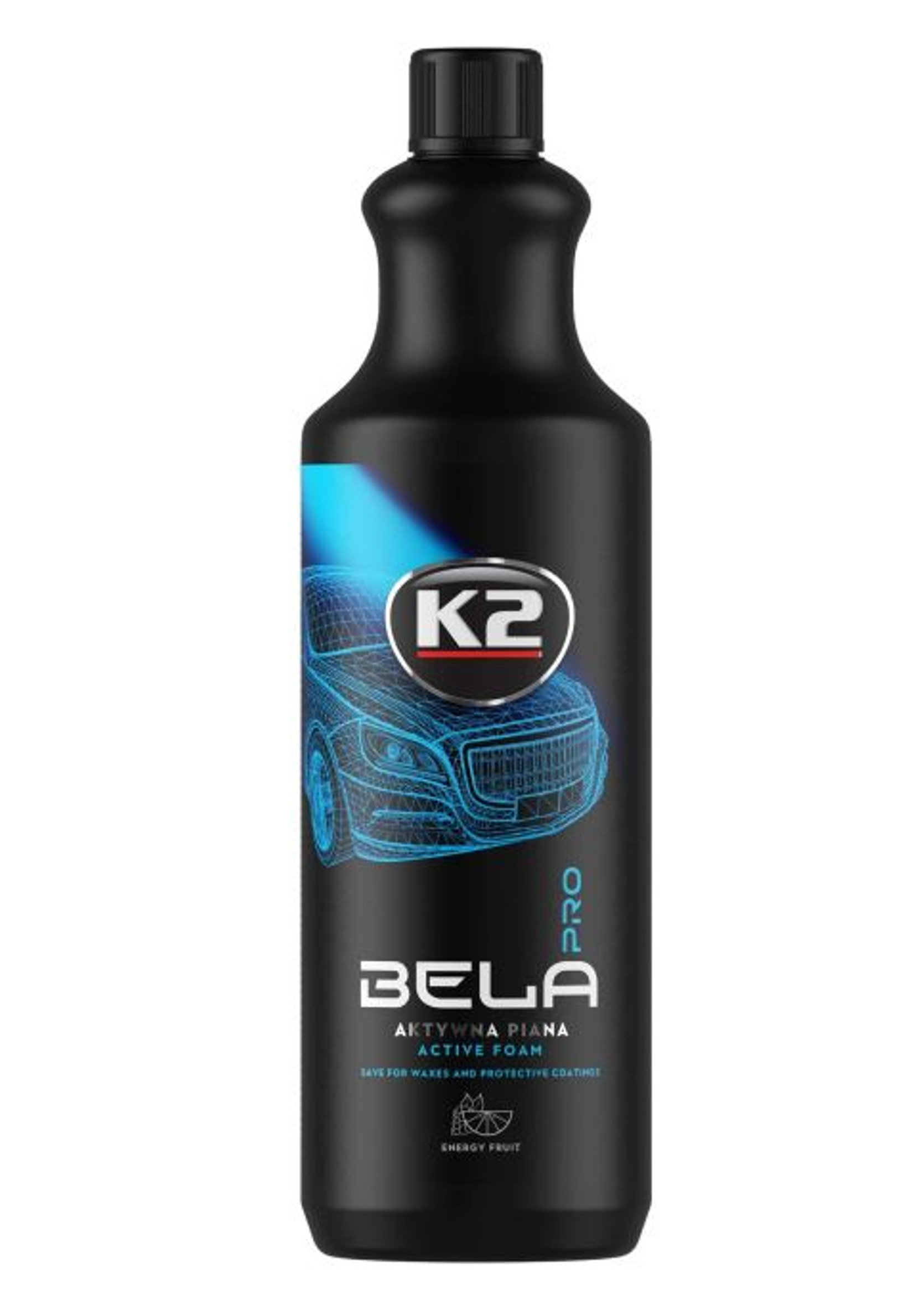 K2 Bela PRO 1L Energy Fruit Piana Aktywna