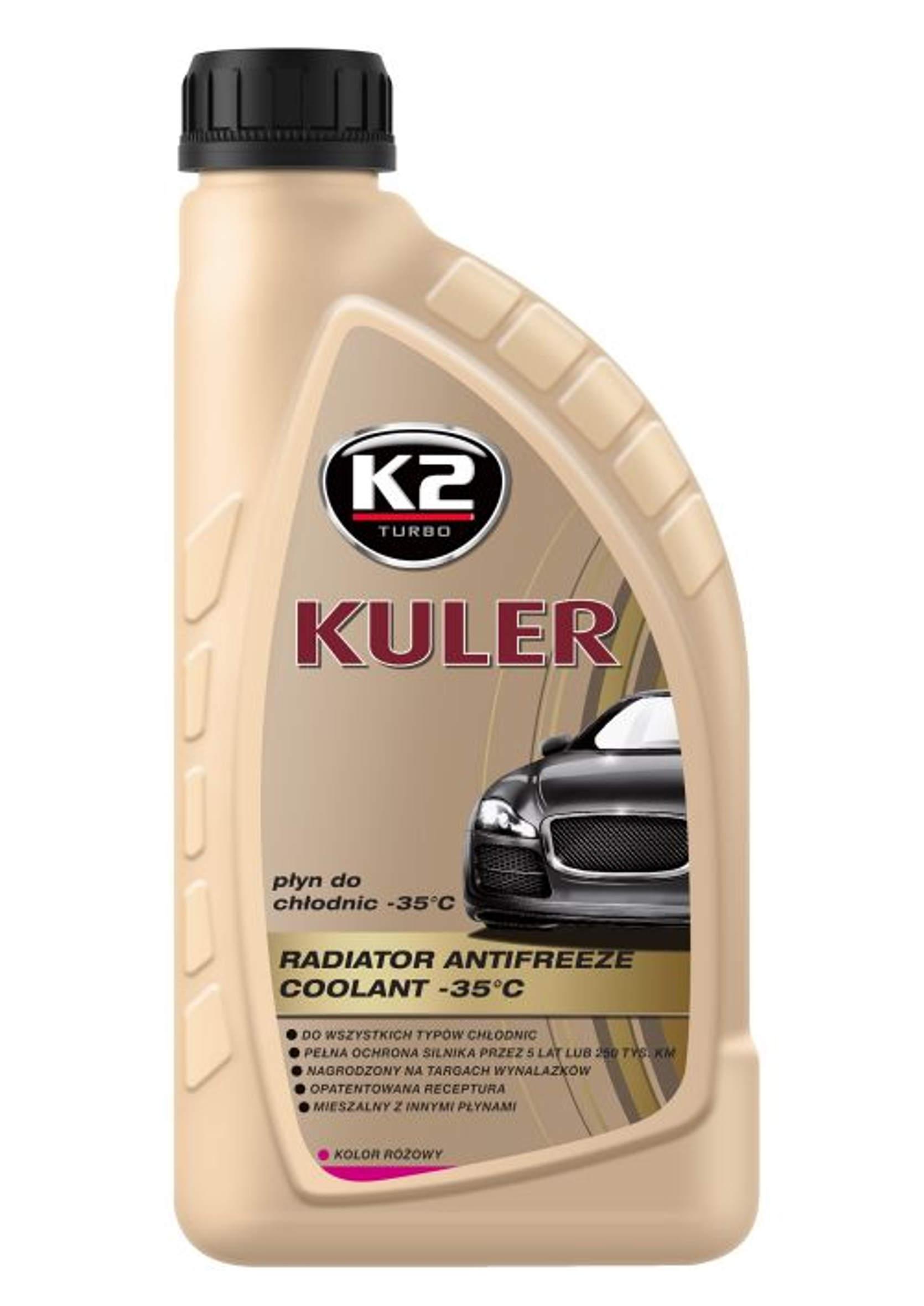 K2 Kuler 1L Płyn Chłodniczy Różowy -35C G13