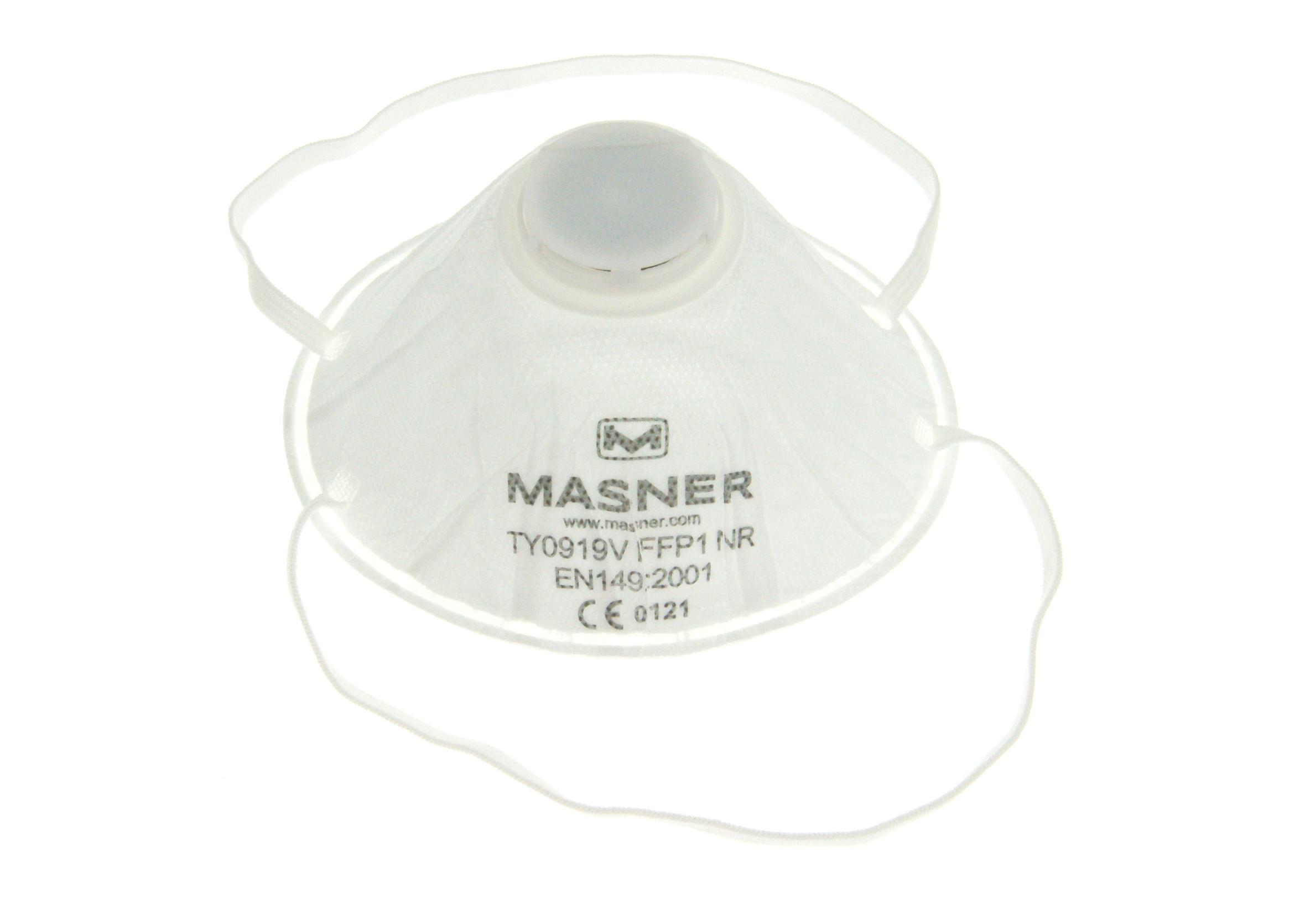 K2 Maska przeciwpyłowa lakiernicza okragła z zaworkiem