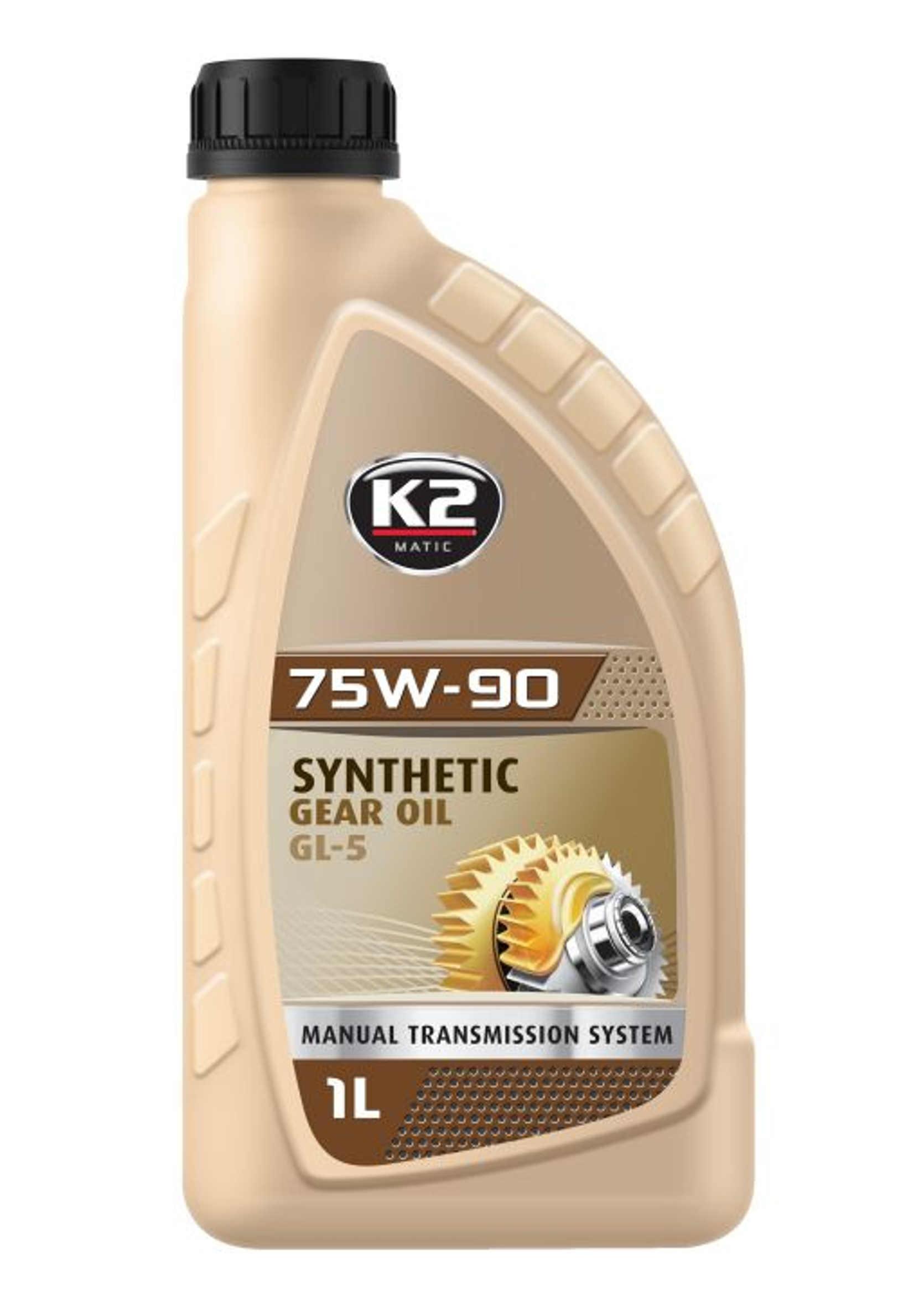 K2 75W90 1L Olej przekładniowy Syntetyczny