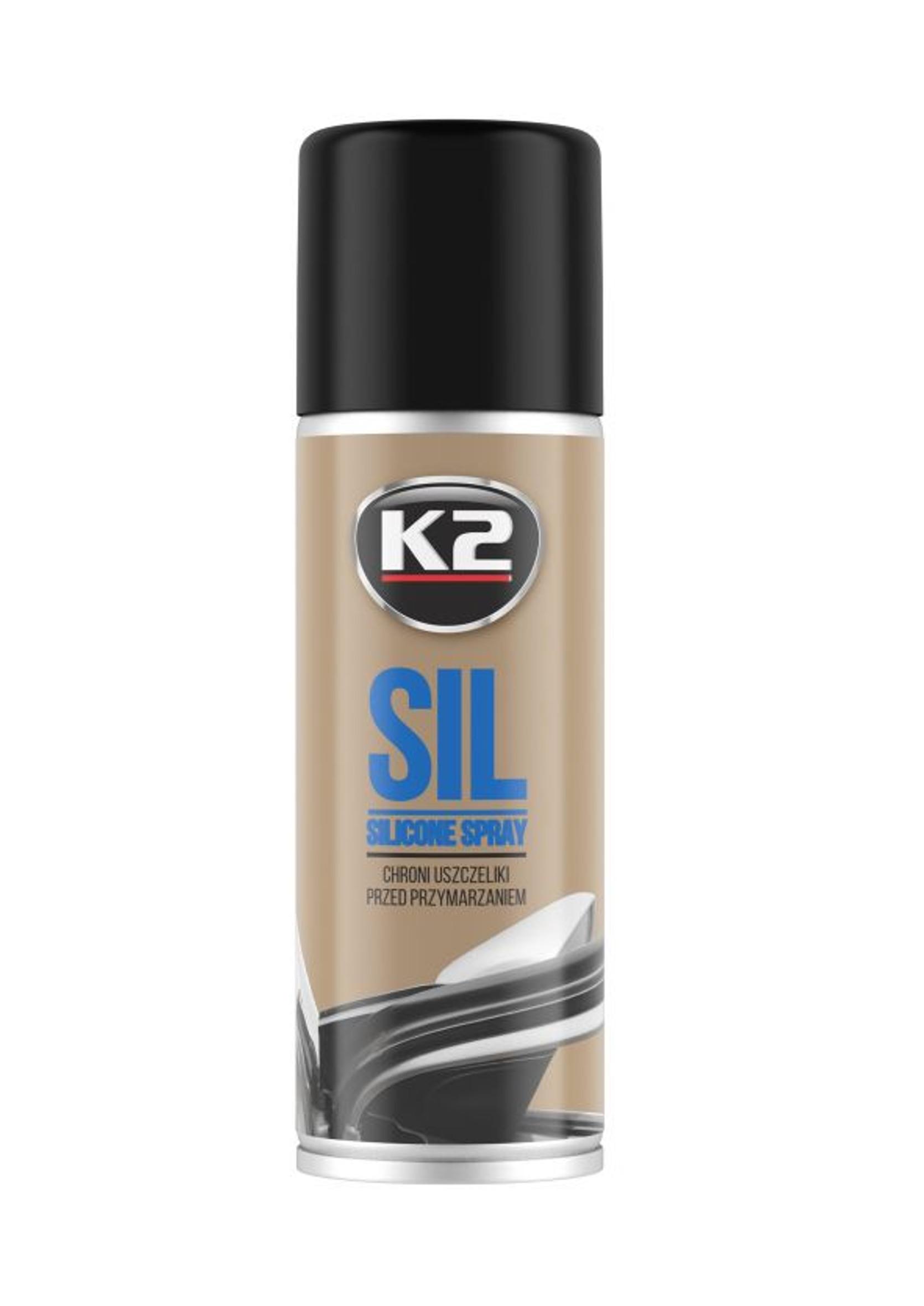 K2 Sil 150ml Silikon w Sprayu Do Uszczelek w Samochodzie