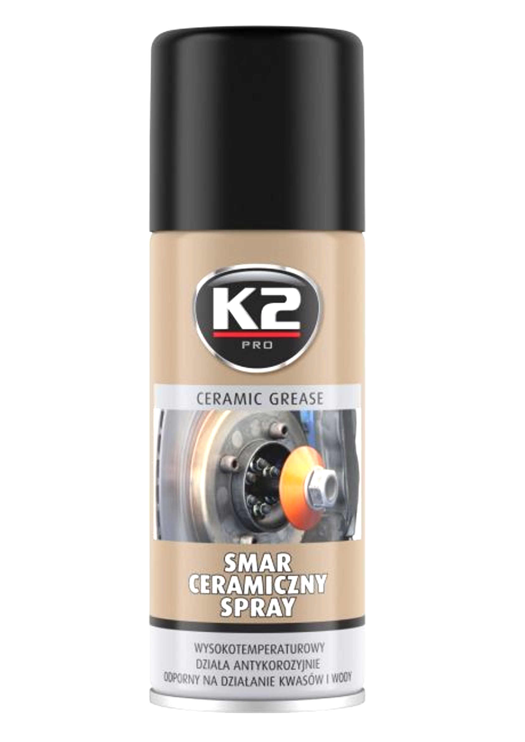 K2 Smar Ceramiczny Wysokotemperaturowy spray 400ml