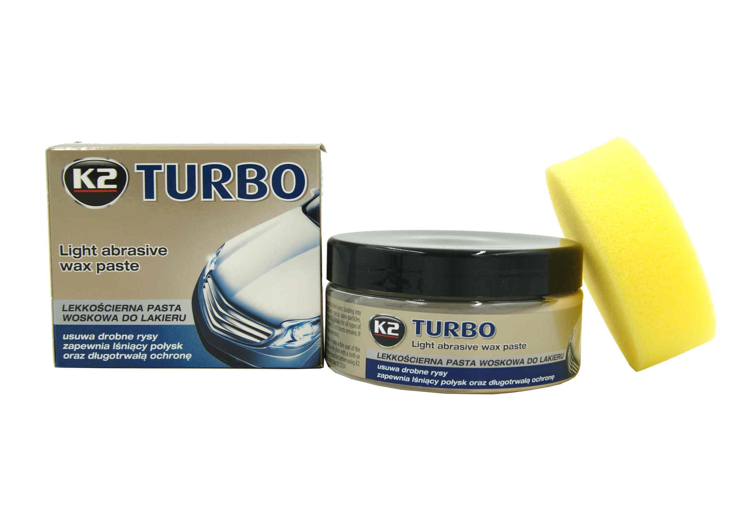K2 Tempo Turbo 250g. Pasta woskowa lekkościerna woskowa puszka