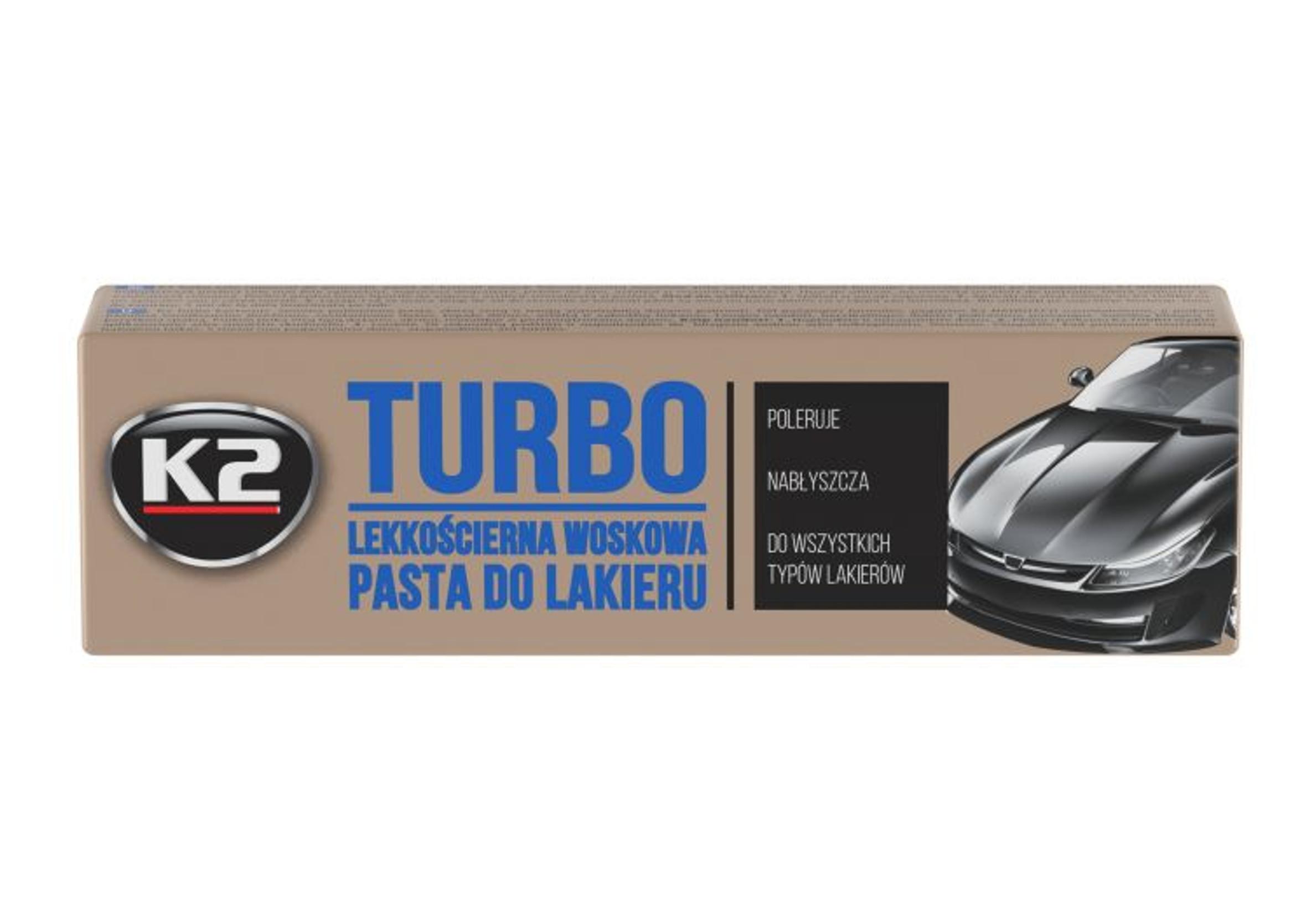 K2 Tempo Turbo 120g Lekkościerna Pasta Woskowa do Lakieru