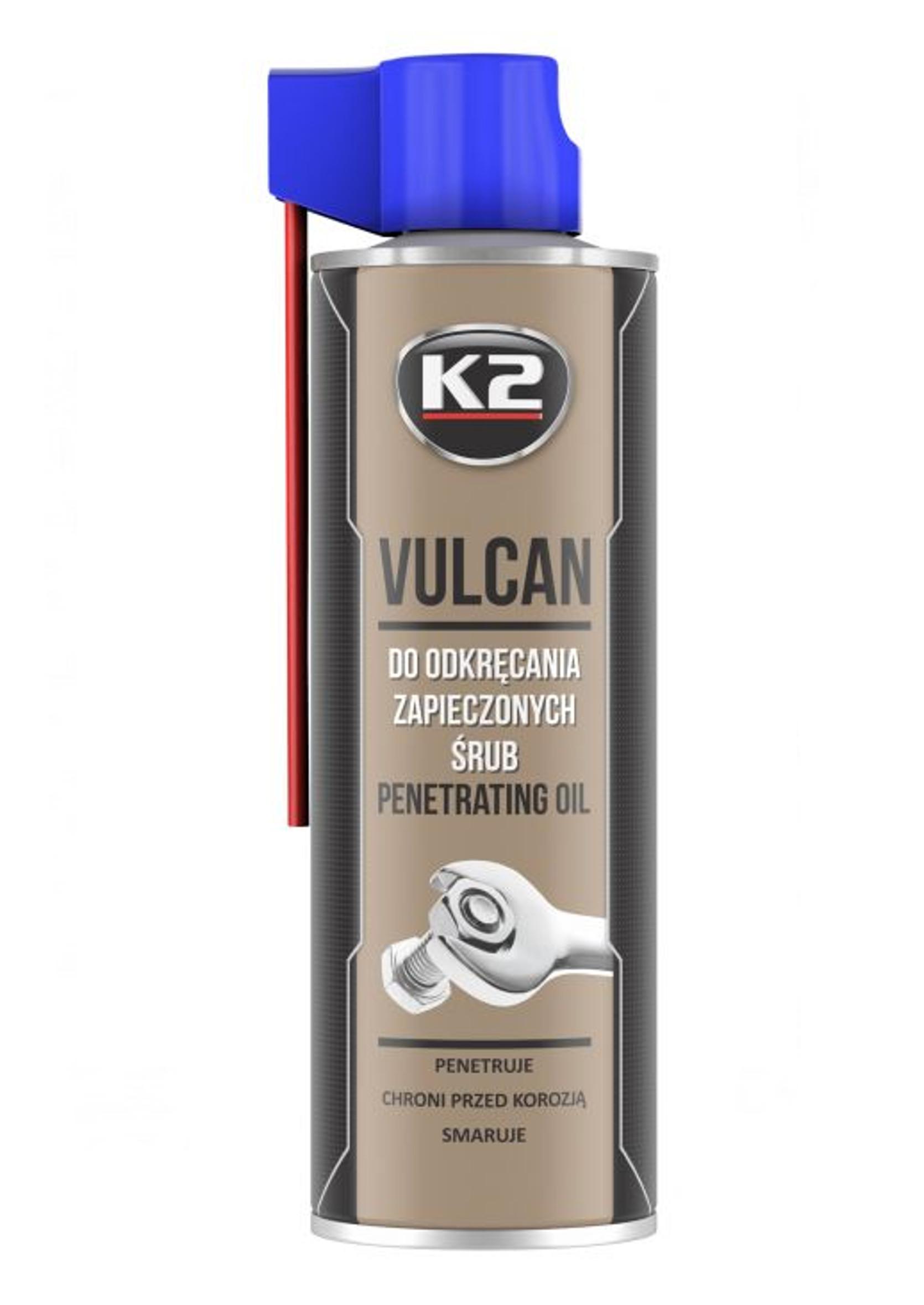K2 Vulcan 500ml Penetrant Odrdzewiacz do zapieczonych śrub