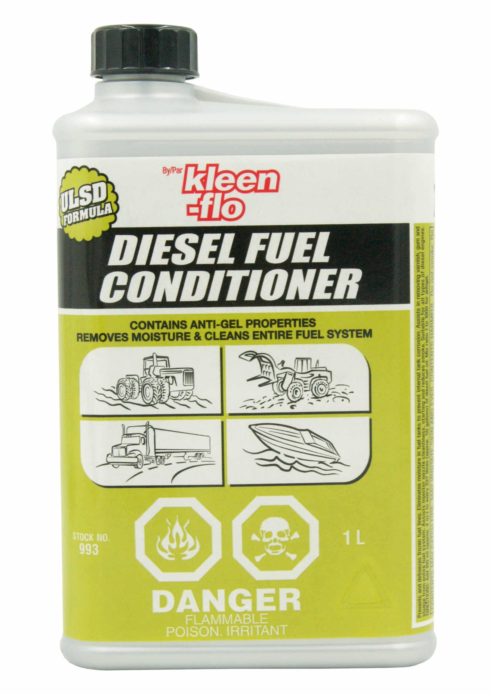 Kleen-Flo Diesel Fuel Conditioner 1L Uszlachetniający Dodatek do Diesla