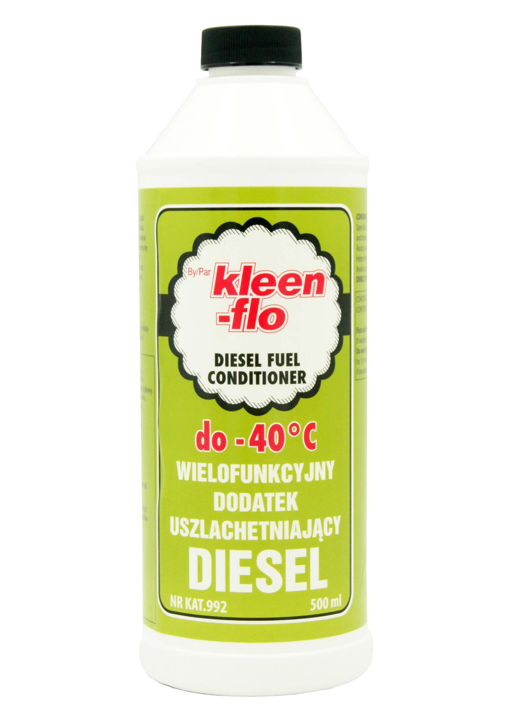 Uszlachetniacz Paliwa do Silników Wysokoprężnych Diesla Kleen-Flo 500ml