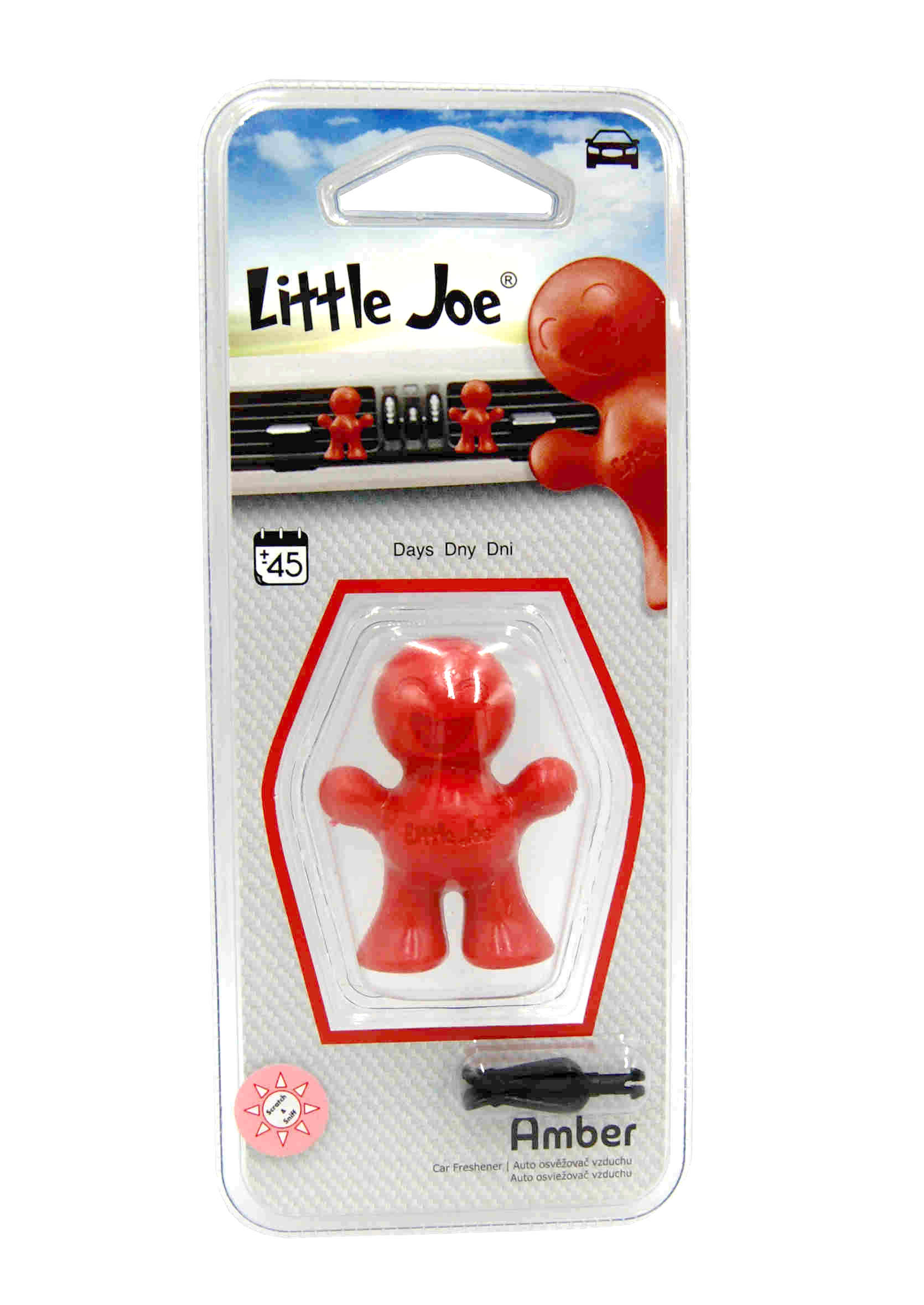 Little Joe 3D Amber Zapach Samochodowy