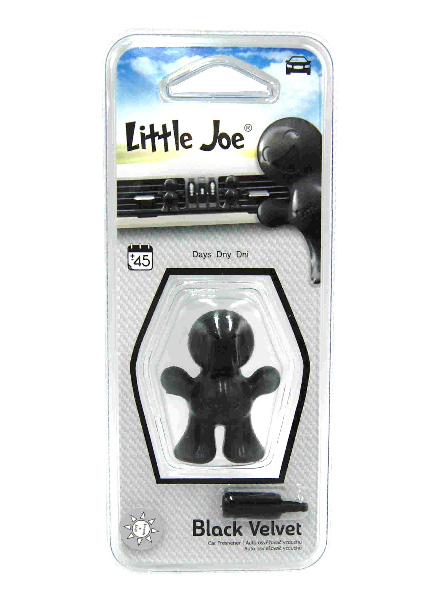Little Joe 3D Black Velvet Zapach Samochodowy