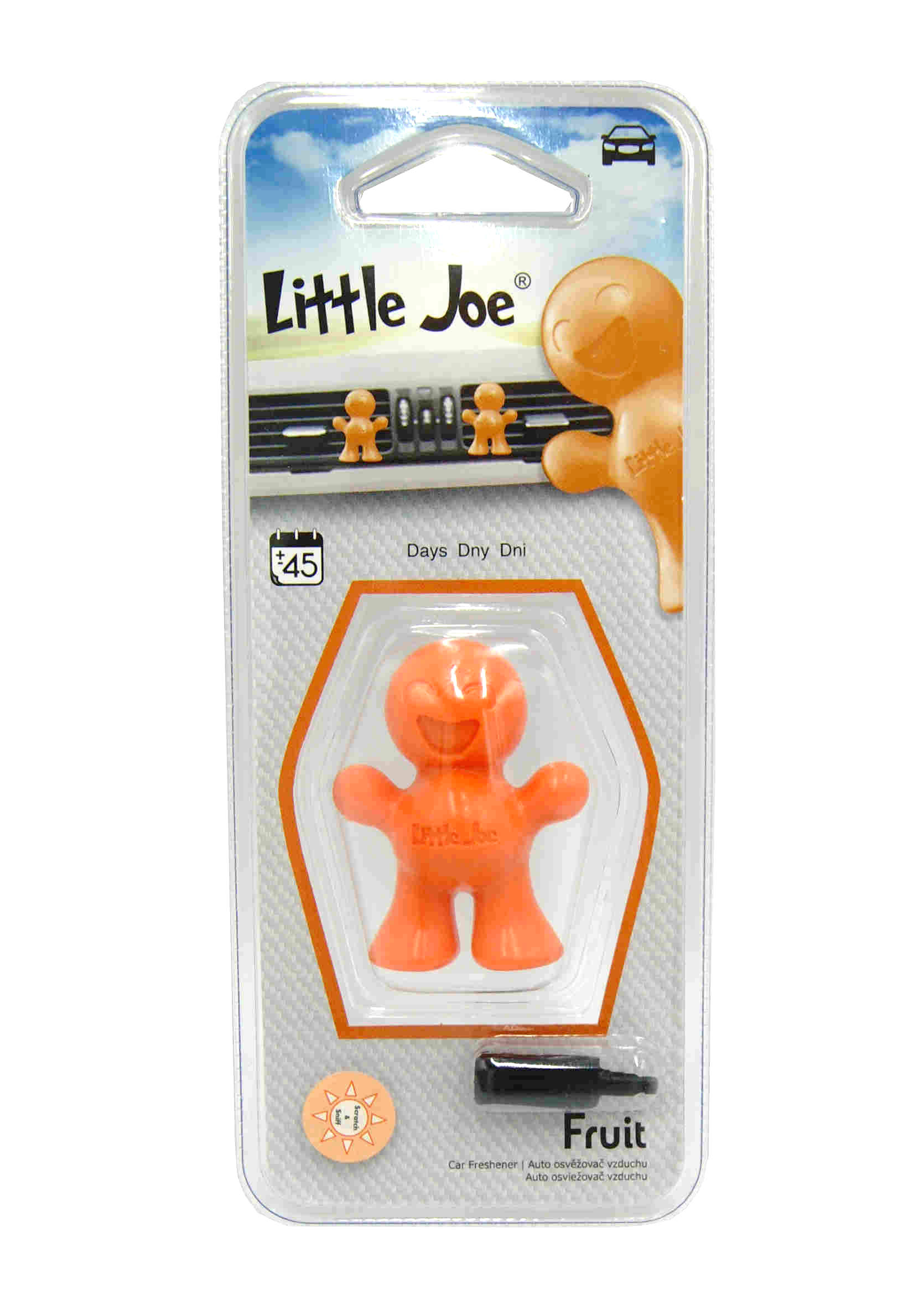 Little Joe 3D Fruit Zapach Samochodowy