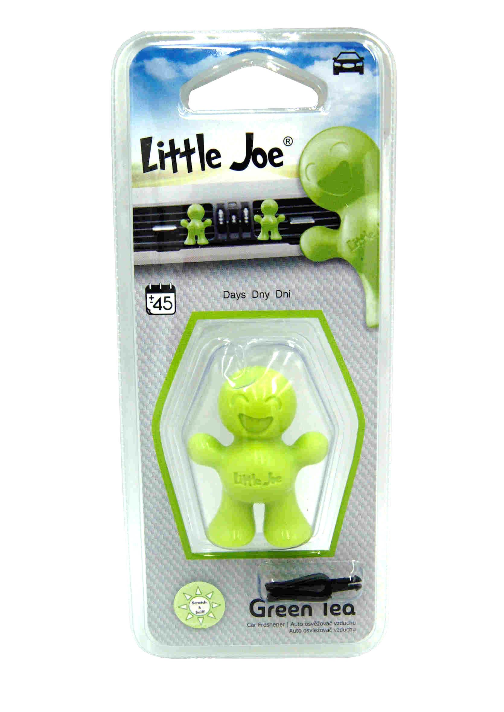 Little Joe 3D Green Tea Zapach Samochodowy