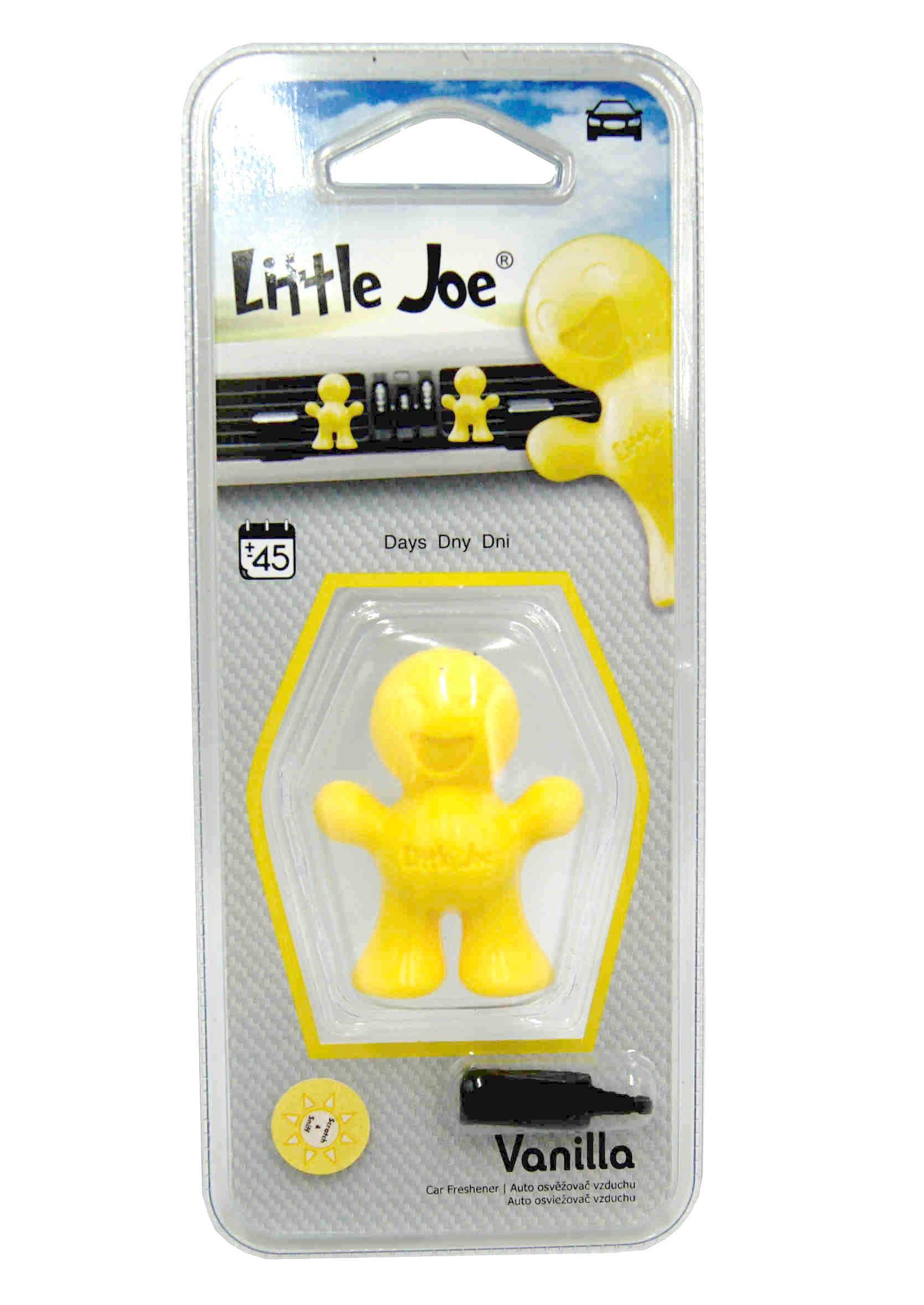 Little Joe 3D Vanilla Zapach Samochodowy