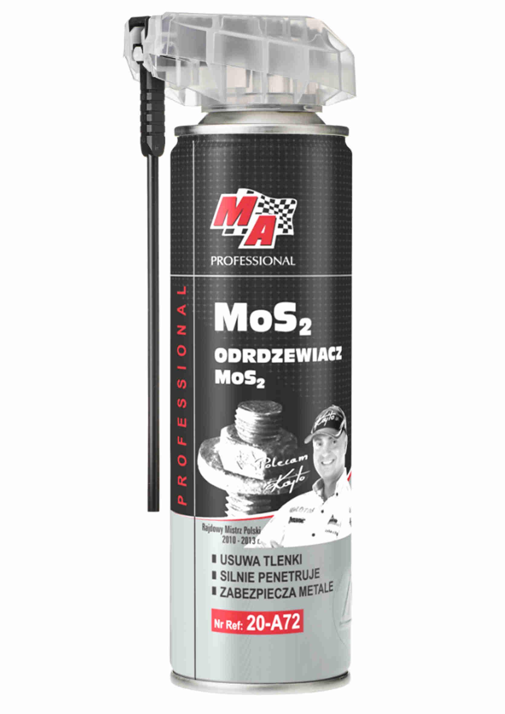 MA Professional Odrdzewiacz MoS2 250ml z Aplikatorem