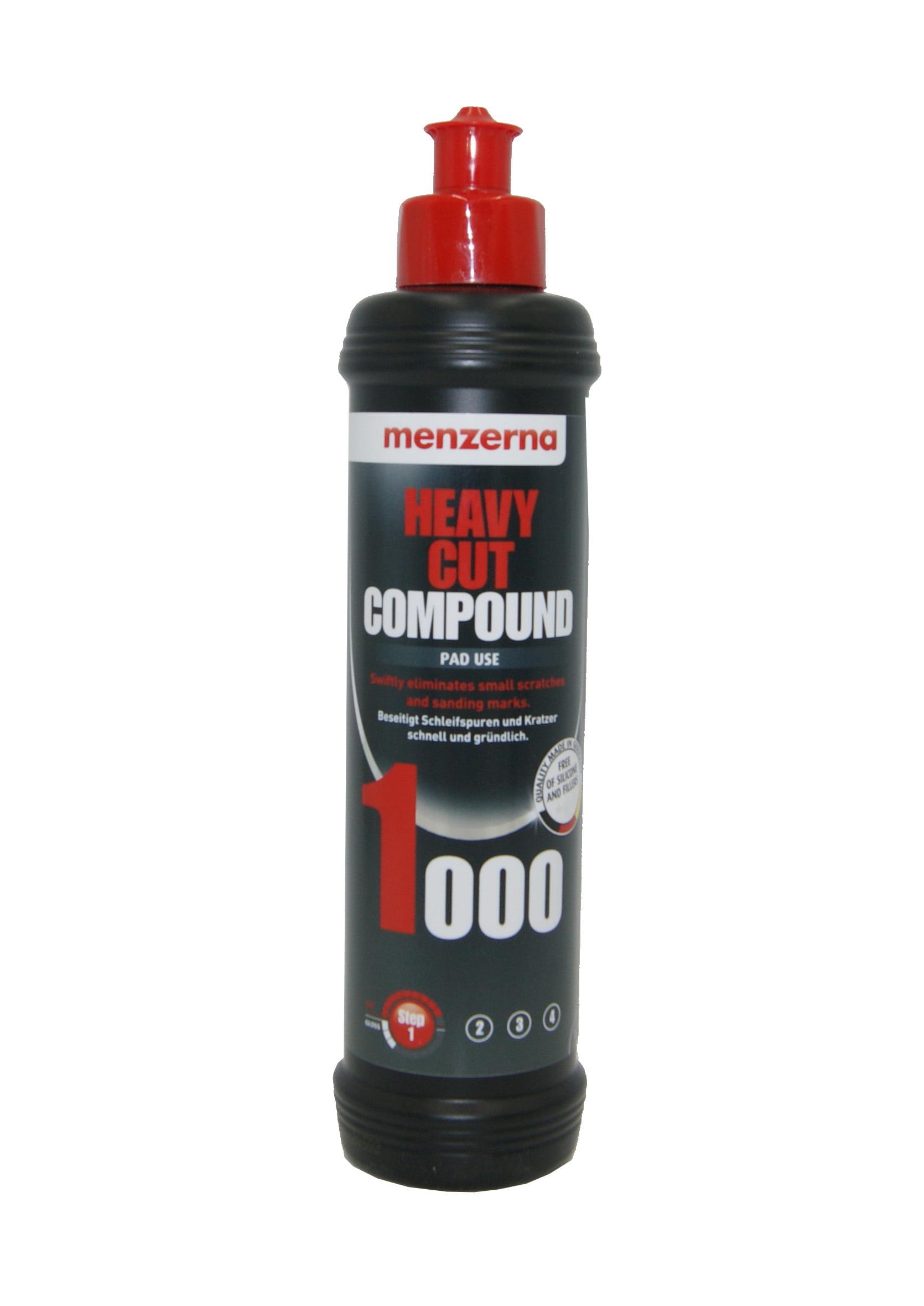 Menzerna 1000 Heavy Cut Compound 250ml Mocno Ścierna Pasta Polerska