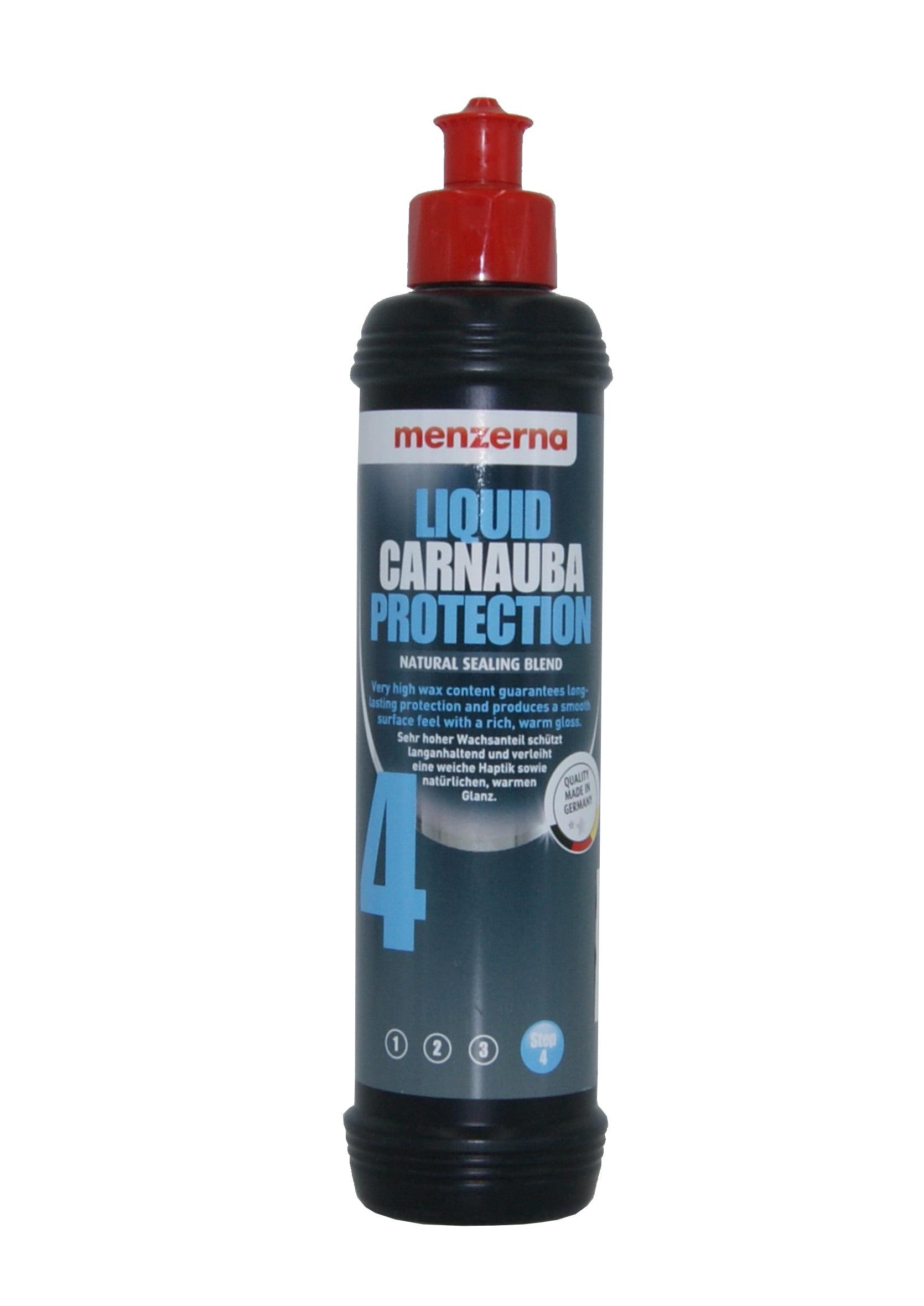 Menzerna Liquid Carnauba Protection Step 4 250ml Woskowe Zabezpieczenie