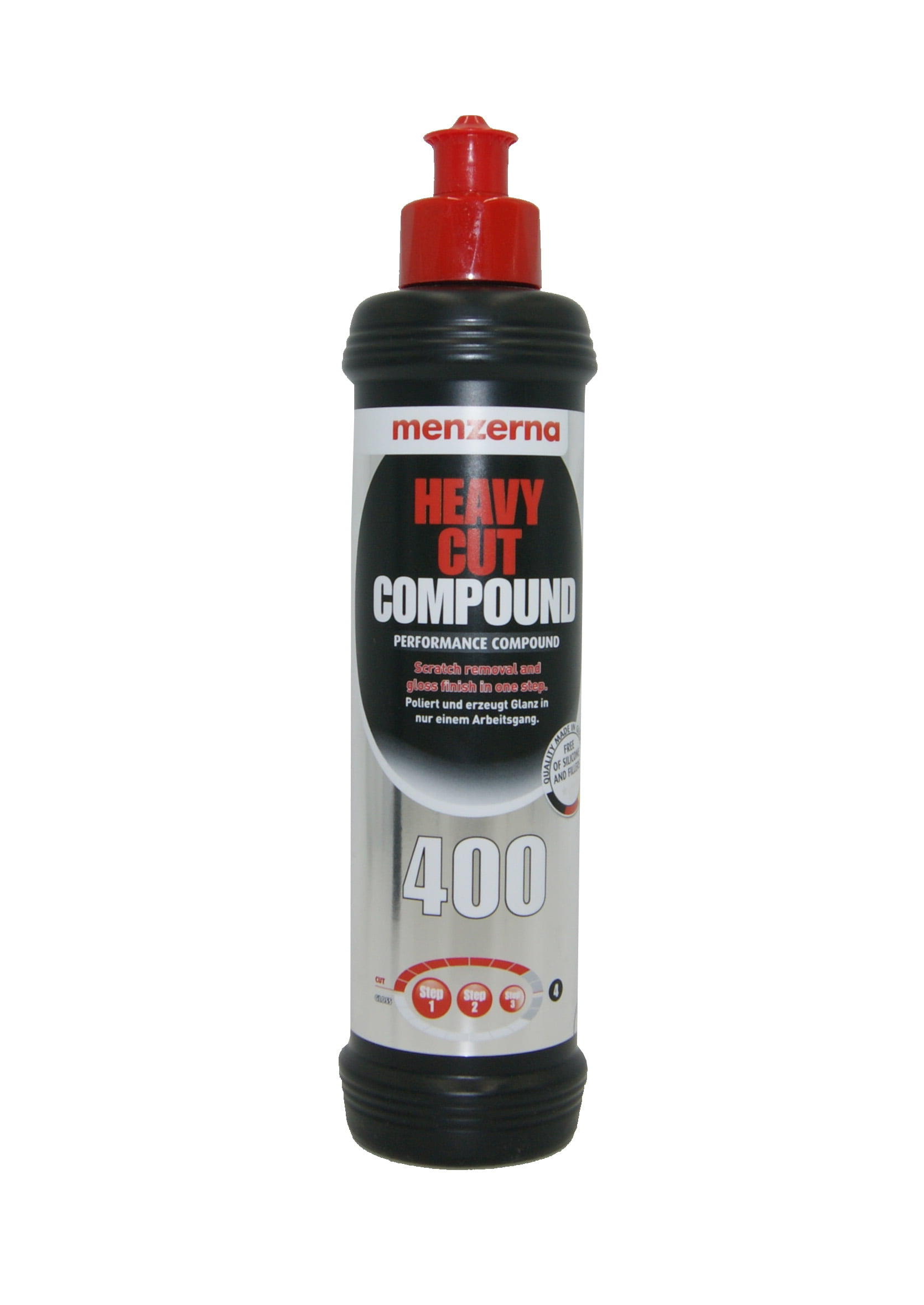 Menzerna Heavy Cut Compound 400 250ml Mocno Ścierna Pasta Polerska