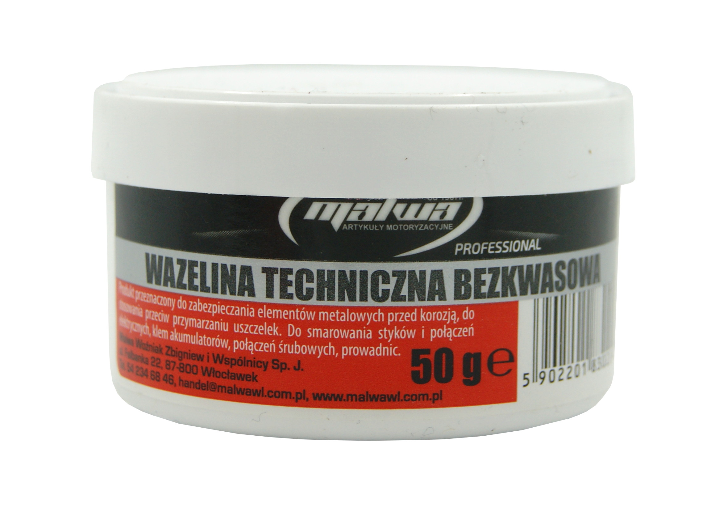 Malwa Wazelina Techniczna Bezkwasowa 50g w Puszce