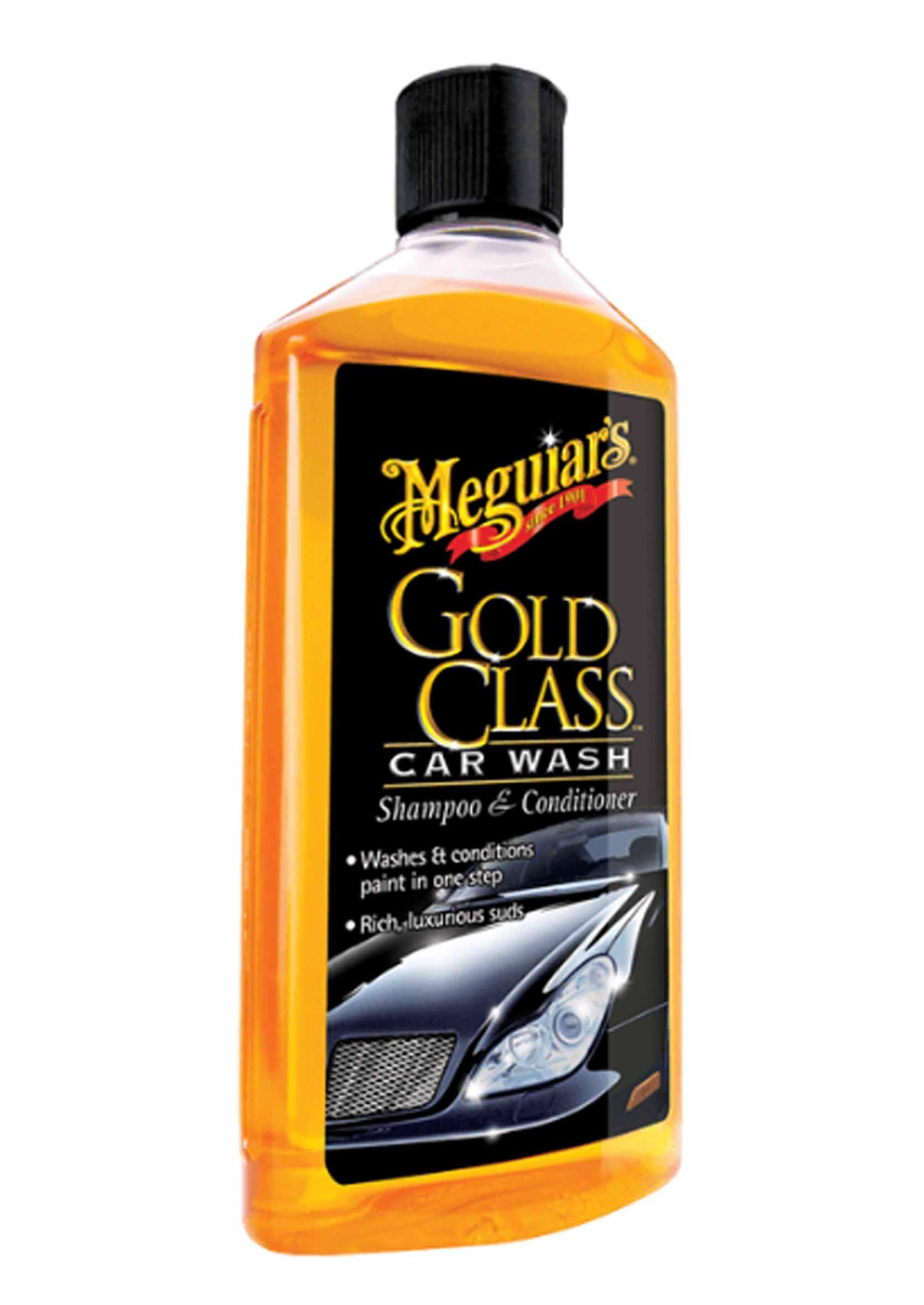Szampon z Odżywką do Mycia Samochodów Meguiars Gold Class Car Wash 473 ml