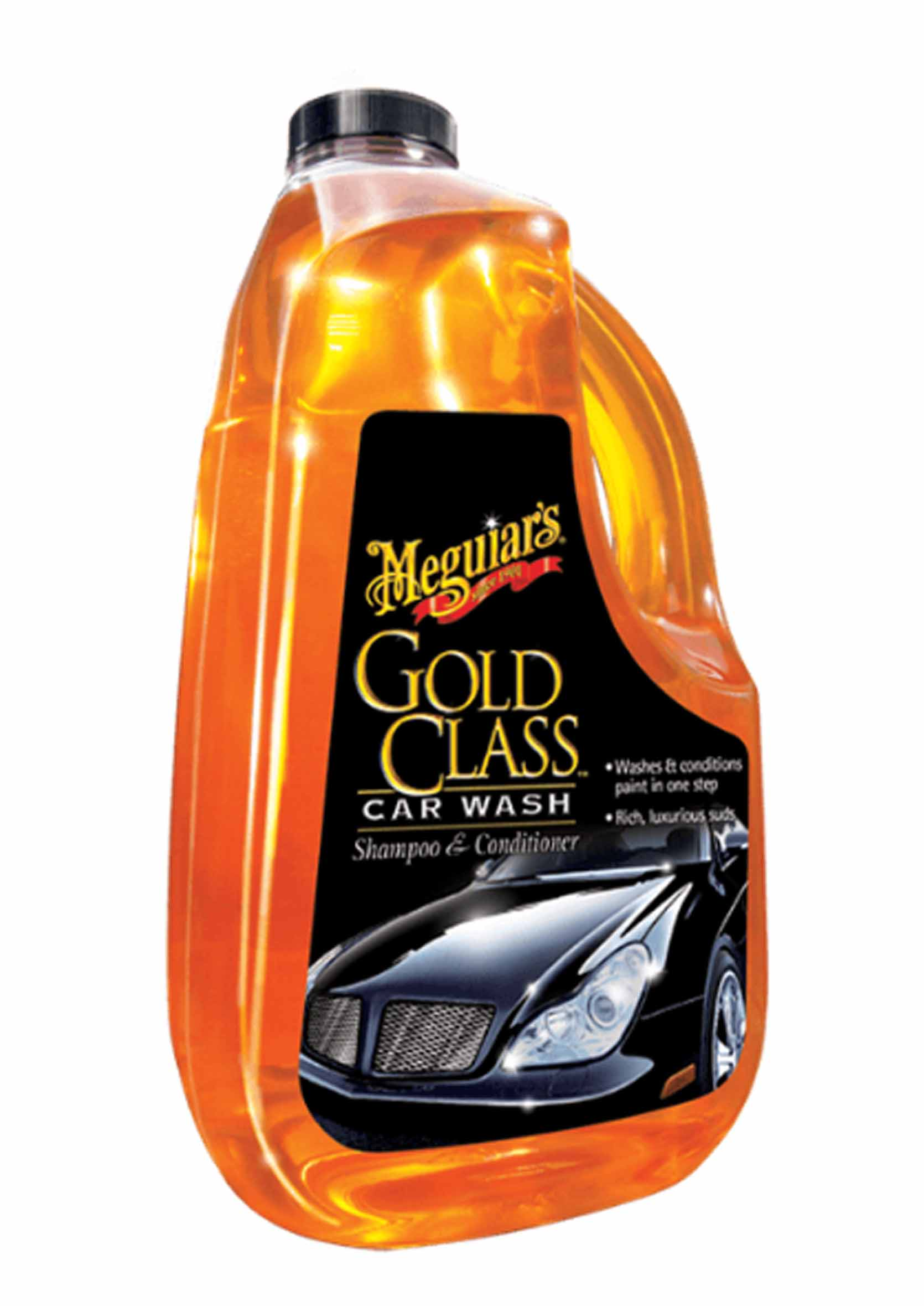 Meguiars Gold Class Car Wax Szampon z Odżywką do Mycia Samochodów 1.89L