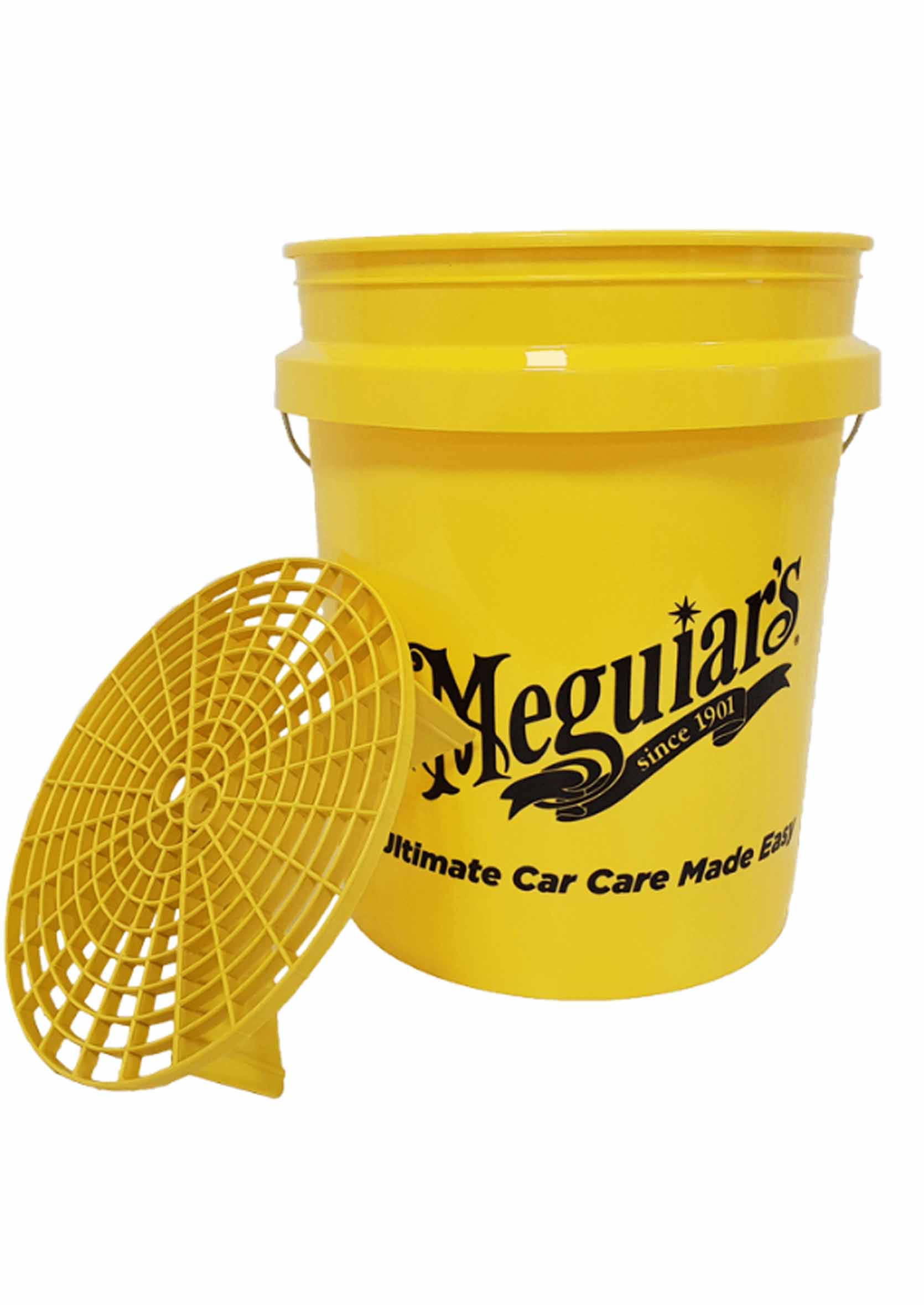 MEGUIARS Professional Wash Bucket with Grit Guard 18,9L