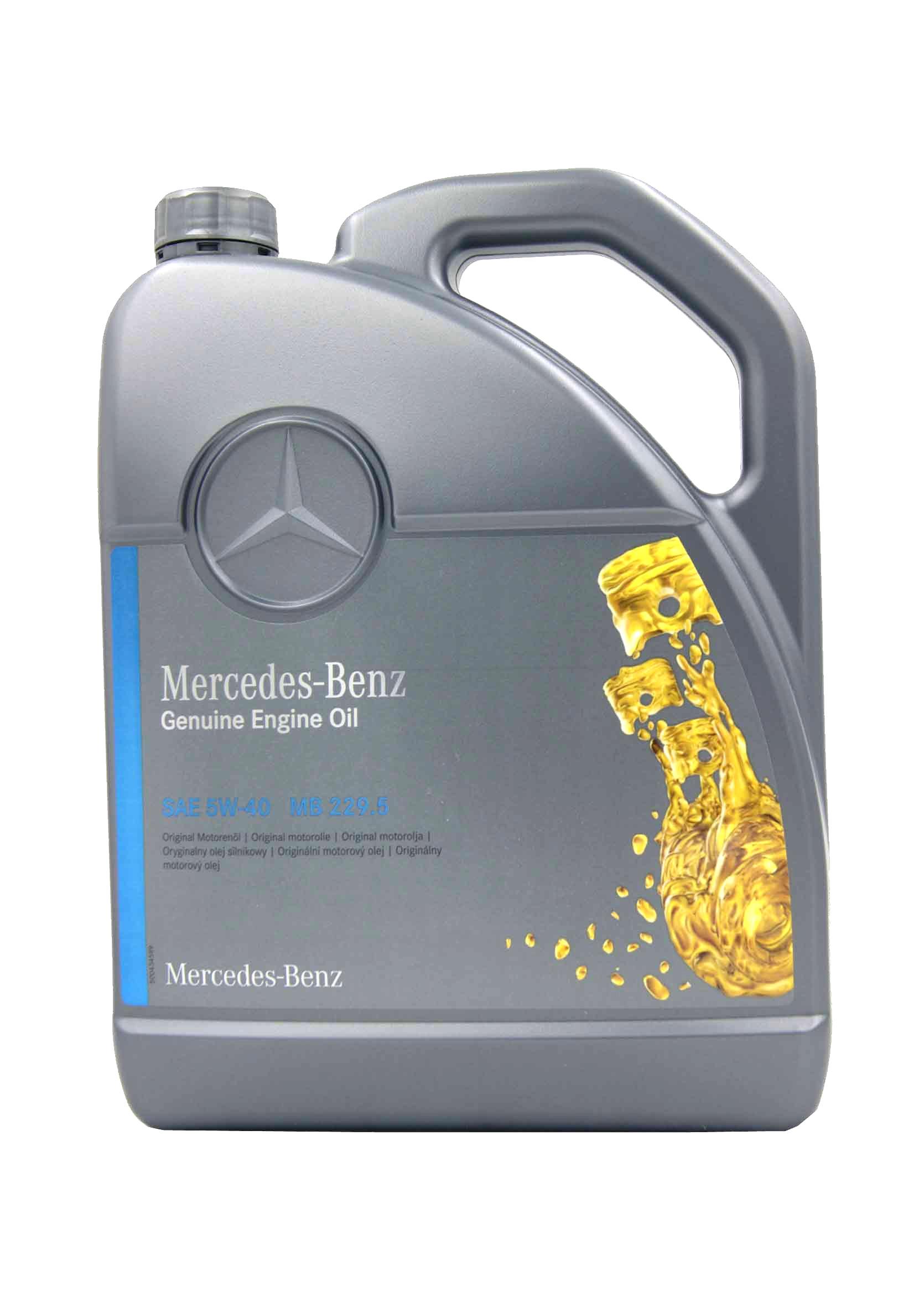 Mercedes Benz Original Oil 5W40 MB 229.5 5L Olej Silnikowy Syntetyczny