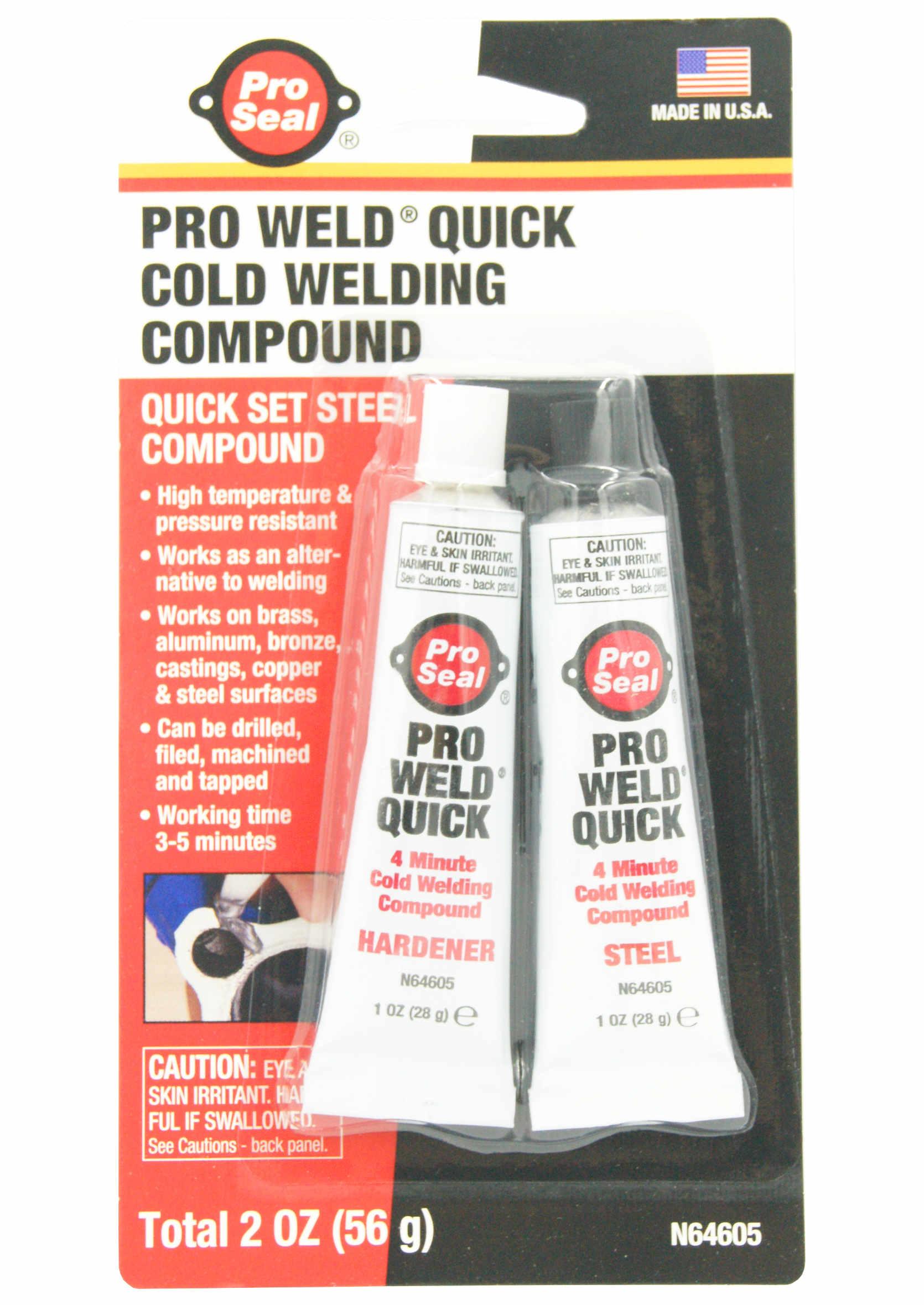 Pro Seal Klej do spawania na zimno 2x28g Pro Weld Quick