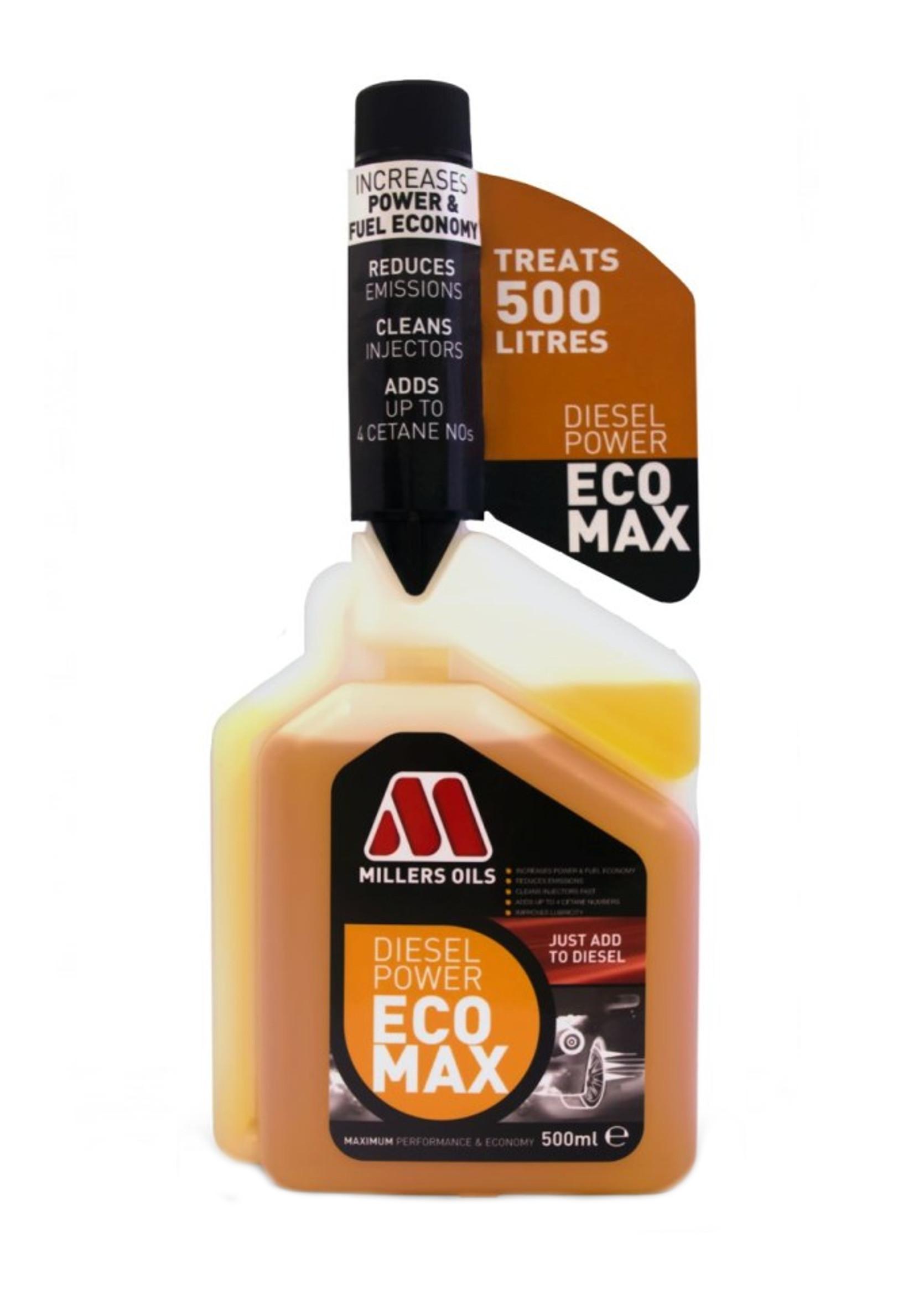 Millers Diesel Power EcoMax 500ml Dodatek do Diesla