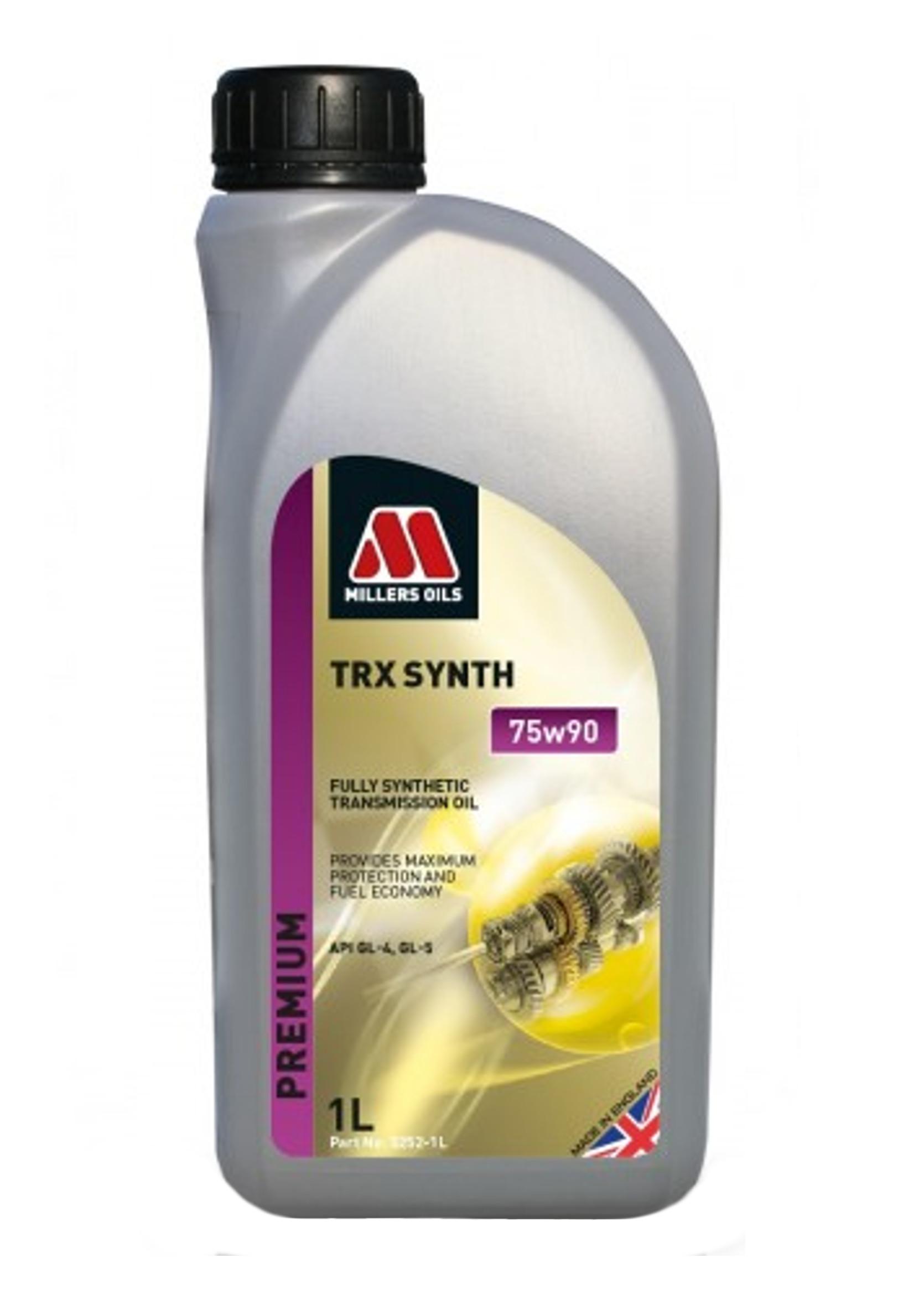 Millers TRX 75W90 1L Syntetyczny Olej Przekładniowy