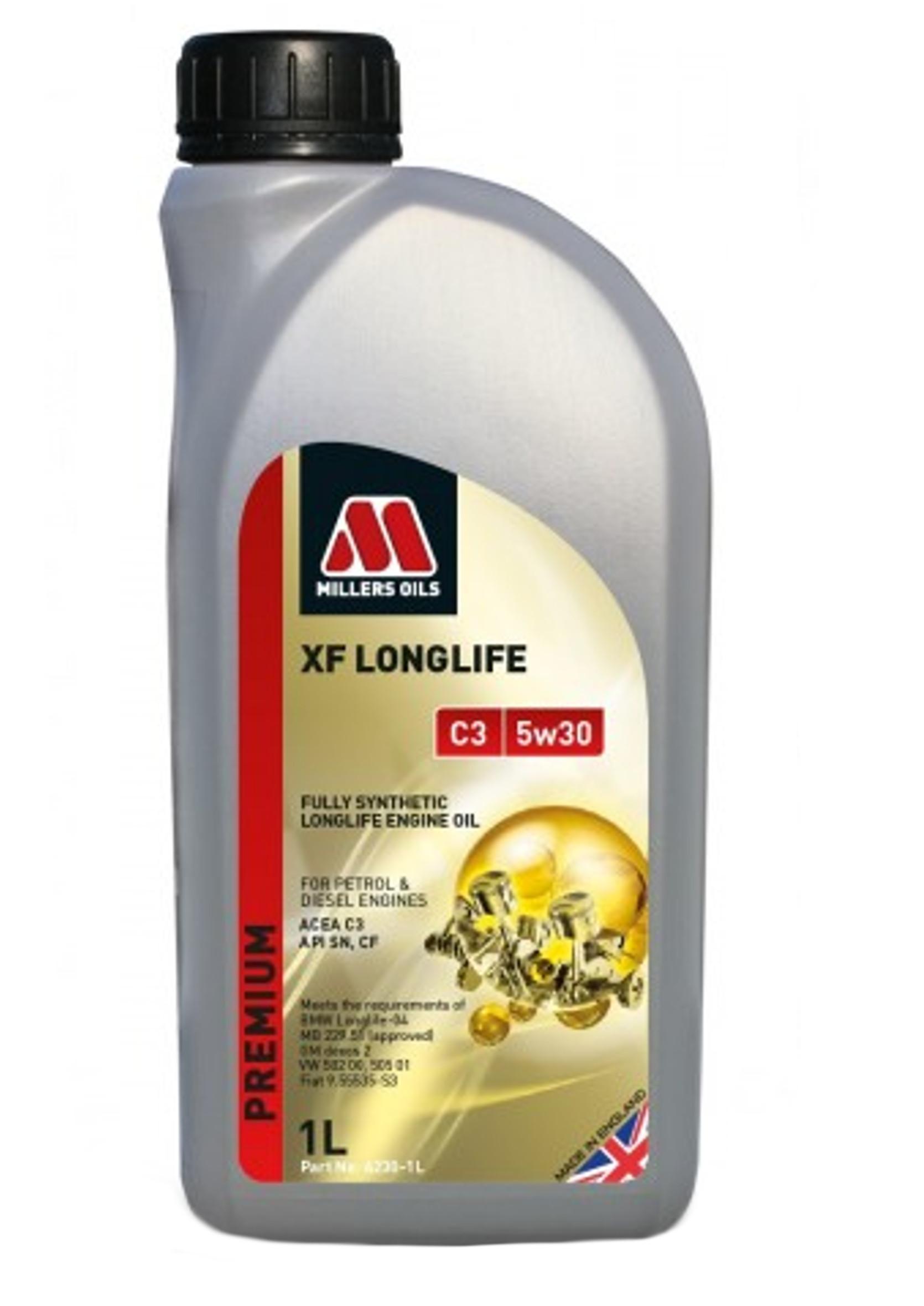 Millers XF Premium 5W30 1L C2 C3 Olej Silnikowy Syntetyczny