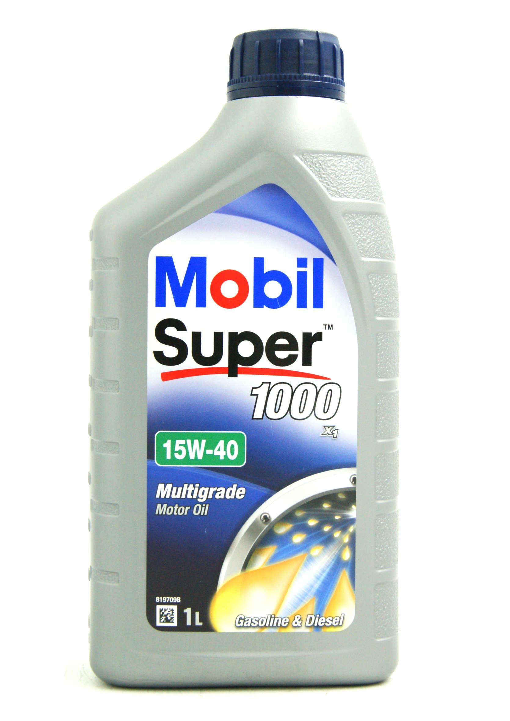 Mobil 1 15W40 1L Super 1000 X1 Mineralny olej silnikowy do benzyny