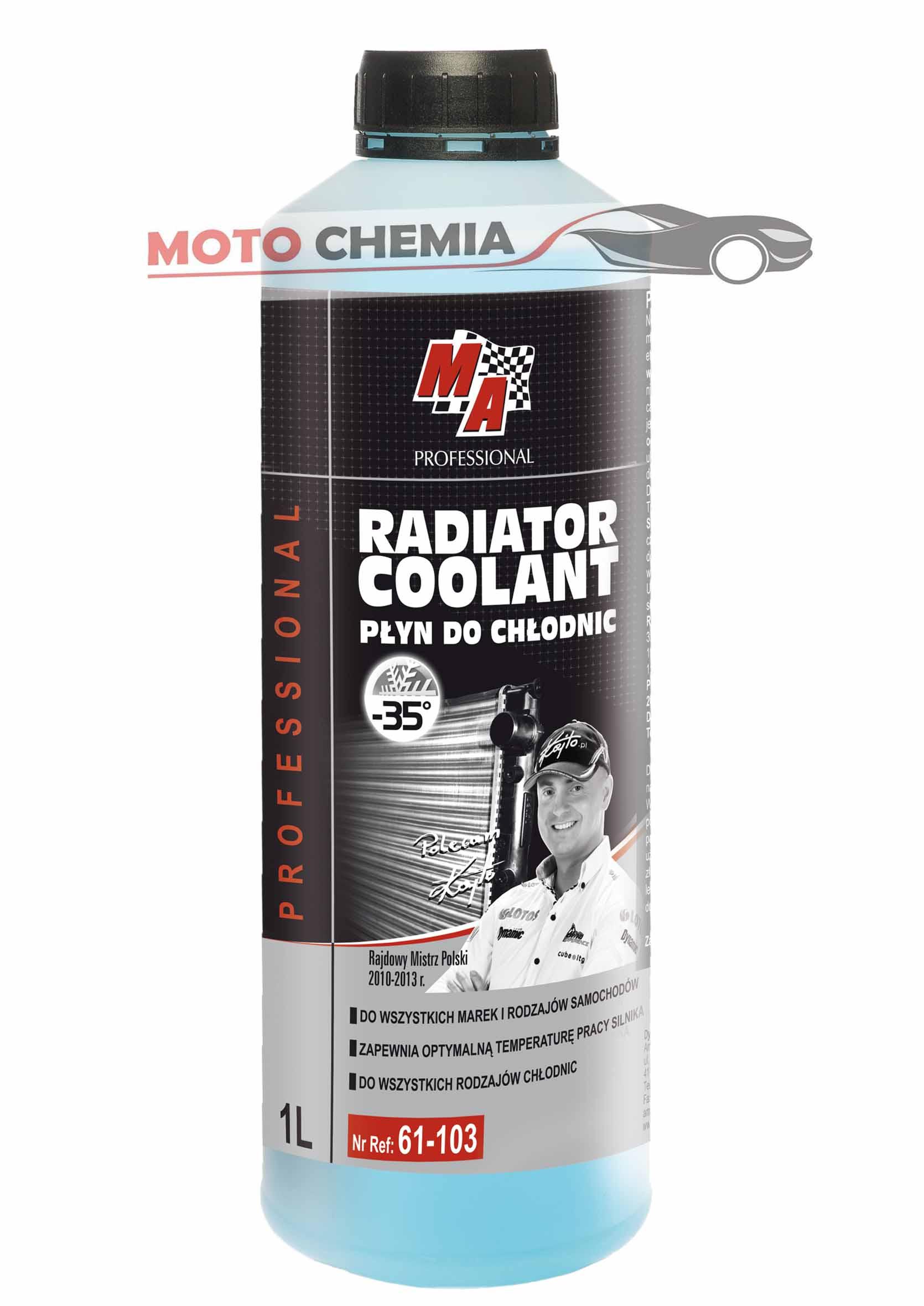 MA Professional Radiator Coolant Płyn do Chłodnic Niebieski -35C 1L