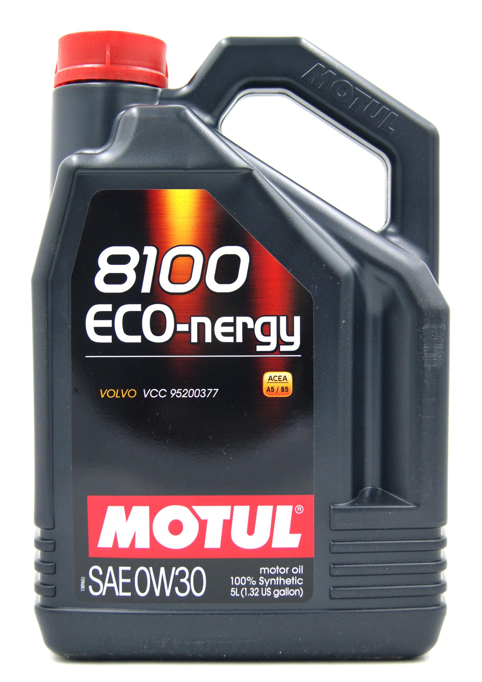 Motul 8100 Eco-Nergy 0W30 5L Olej Silnikowy Syntetyczny