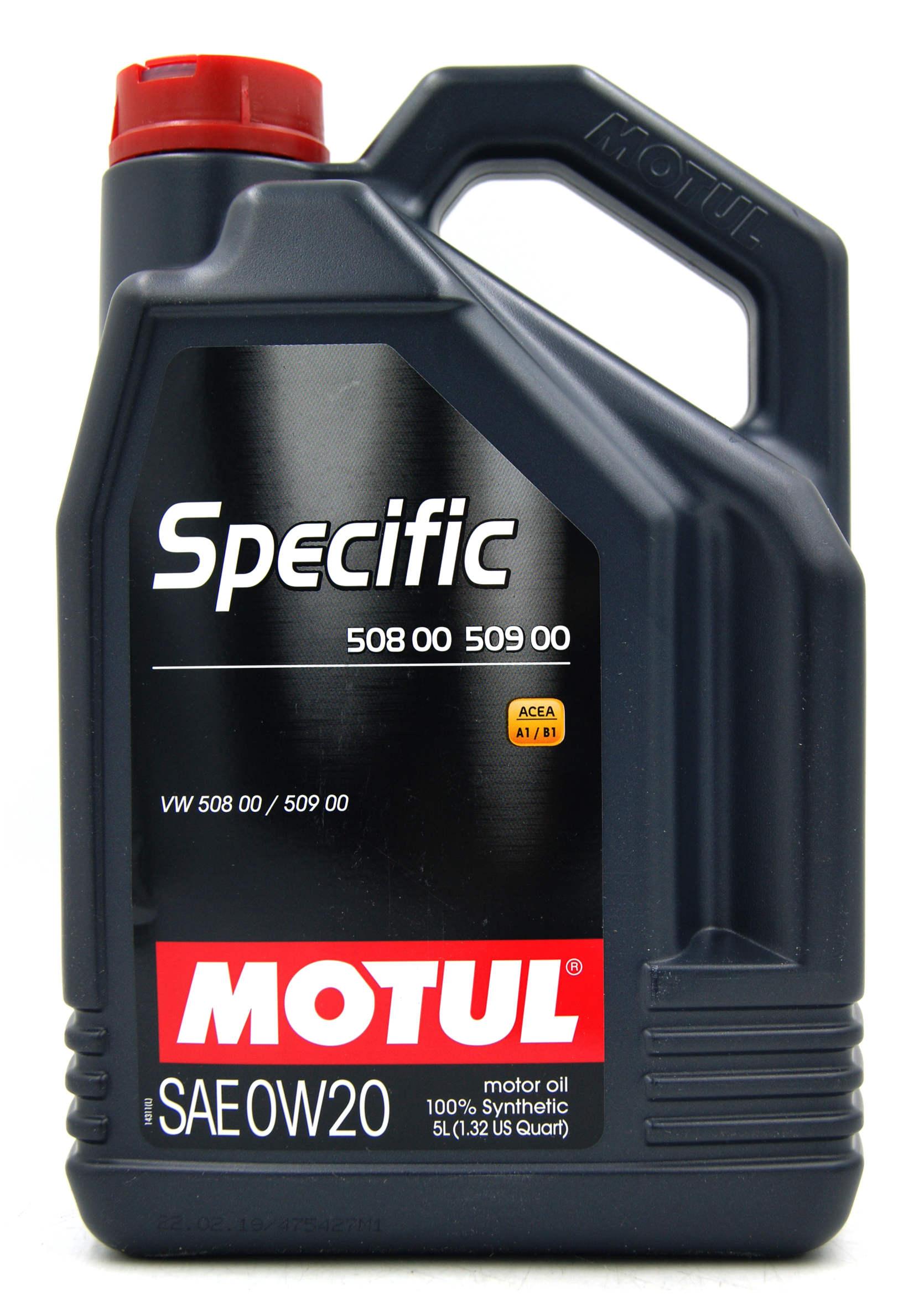 Motul Specific 508.00 509.00 0W20 5L Olej Silnikowy Syntetyczny