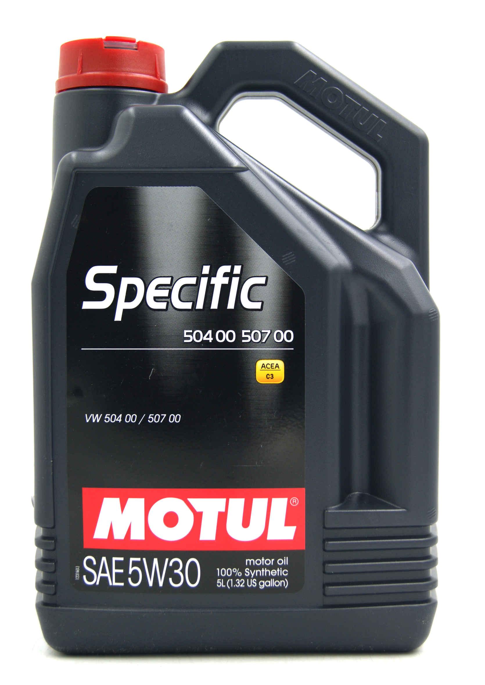 Motul Specific 5W30 5L Olej Syntetyczny 504.00 507.00 do DPF