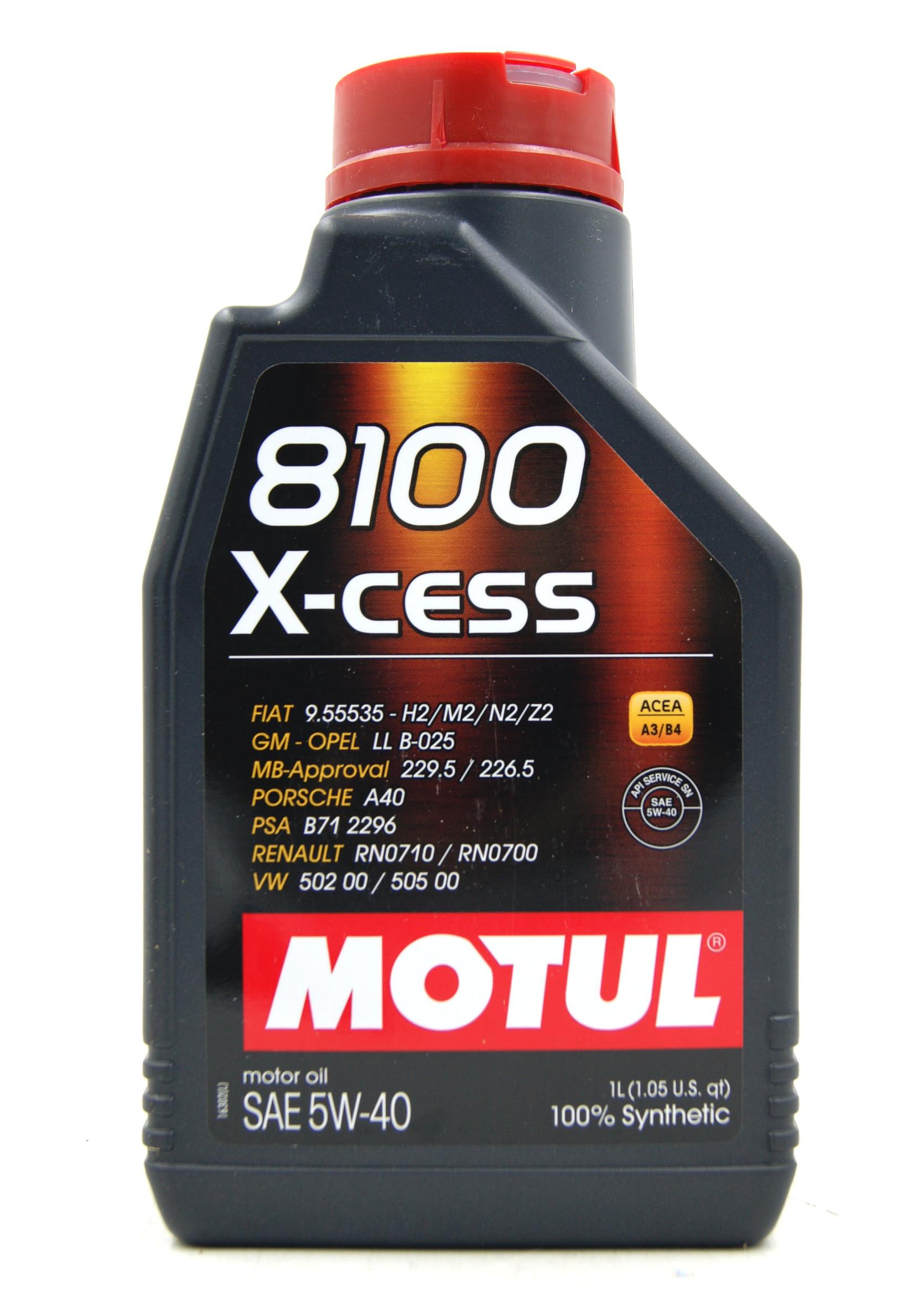 Motul 8100 X-Cess 5W40 1L Olej Silnikowy Syntetyczny